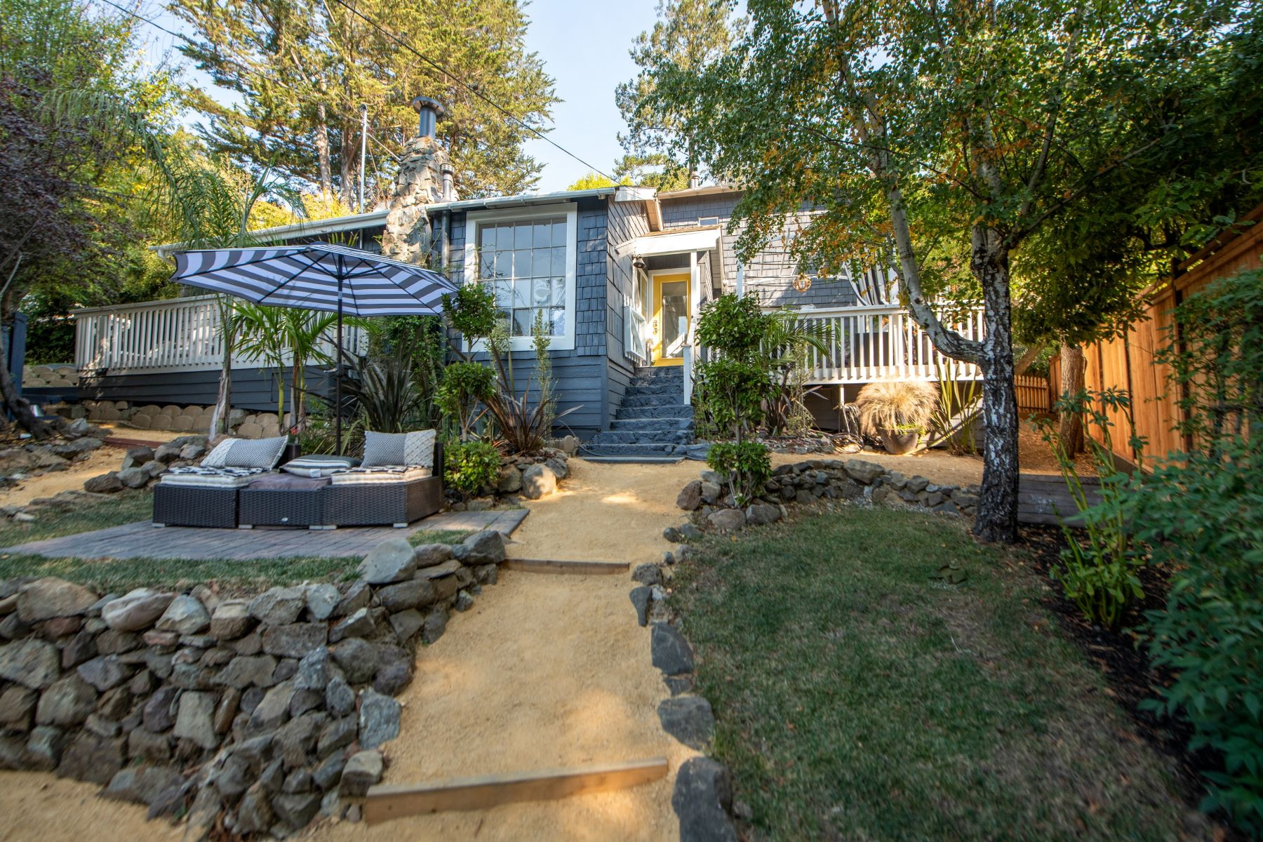 Single Family Homes for Sale at Quintessential Mill Valley Cottage 506 Throckmorton Ave Mill Valley, California 94941 United States