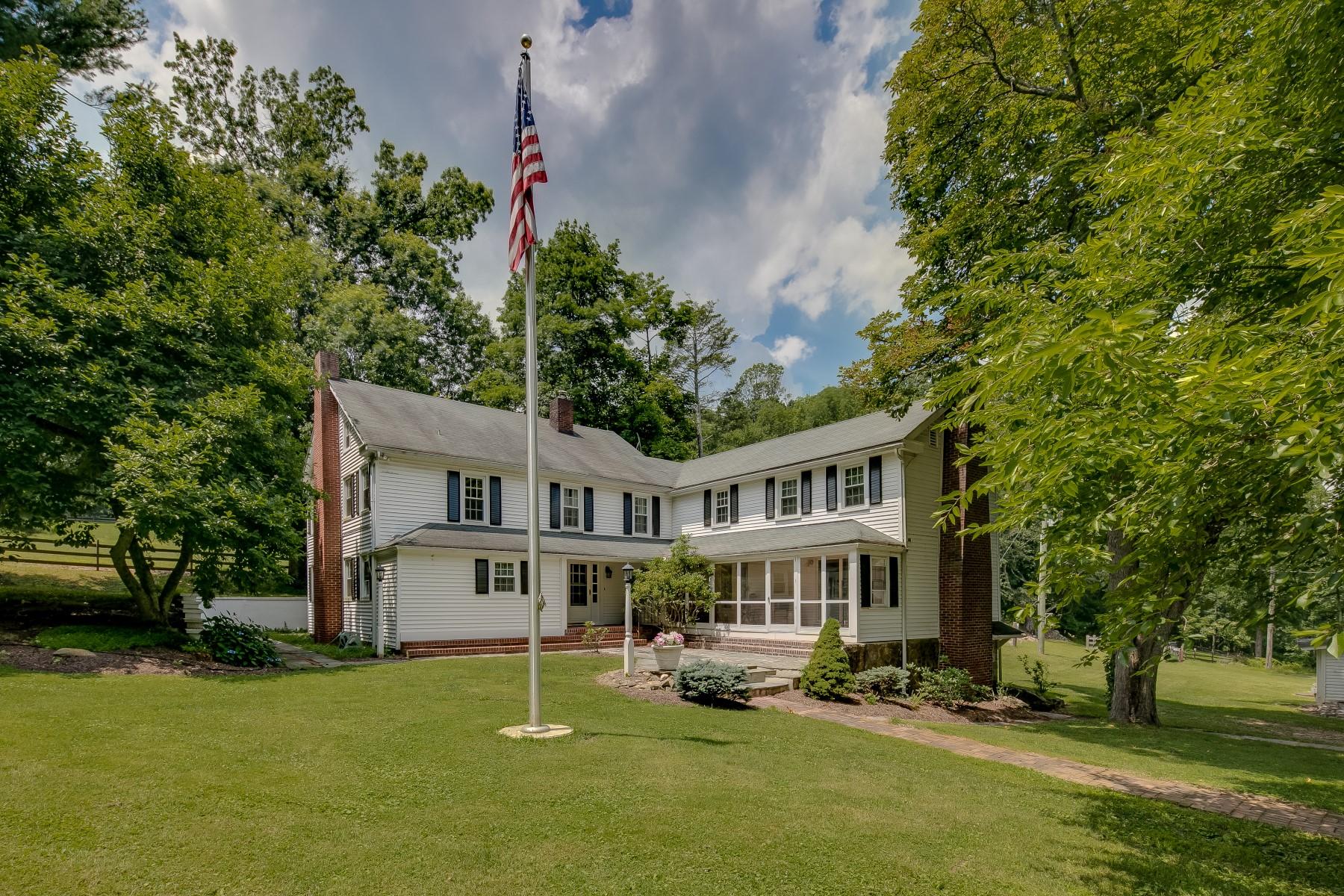 农场 / 牧场 / 种植园 为 销售 在 Pond View Farm 41-43 Dutch Hill Road 莱巴嫩, 新泽西州 08833 美国