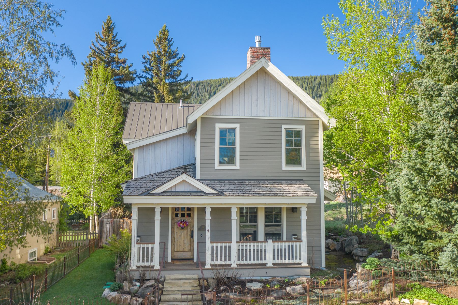 Single Family Homes for Sale at 18 Maroon Avenue Crested Butte, Colorado 81224 United States