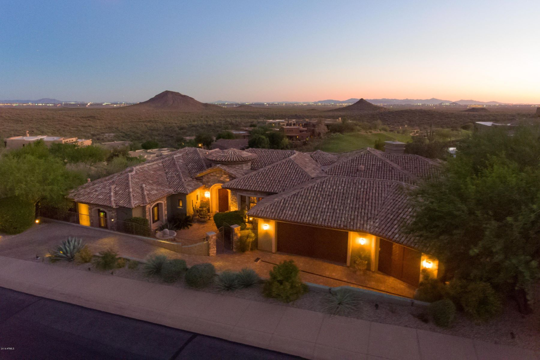 Single Family Homes for Sale at Eagle Mountain 13 15210 E Camelview Dr Fountain Hills, Arizona 85268 United States