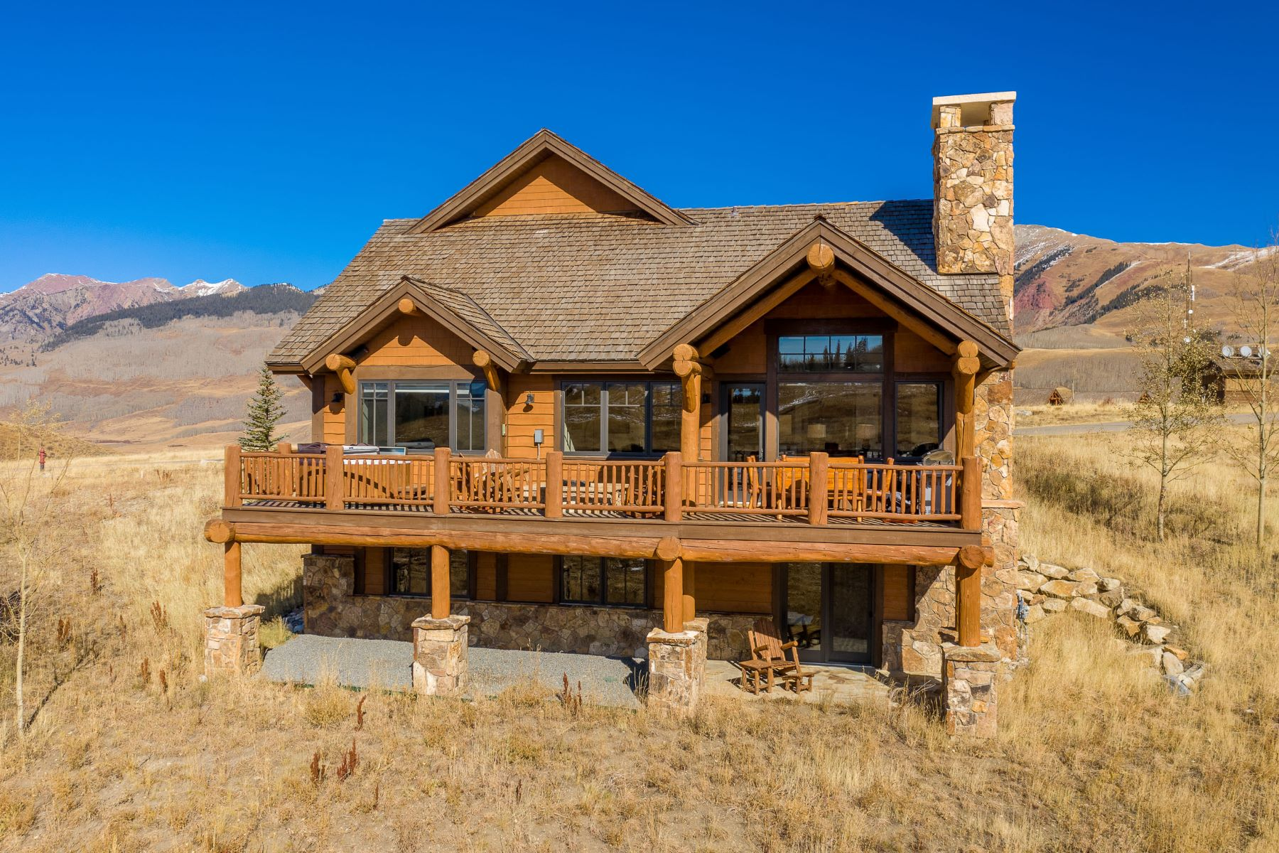 Single Family Homes for Sale at 4 Appaloosa - Wildhorse at Prospect 4 Appaloosa Road Mount Crested Butte, Colorado 81225 United States
