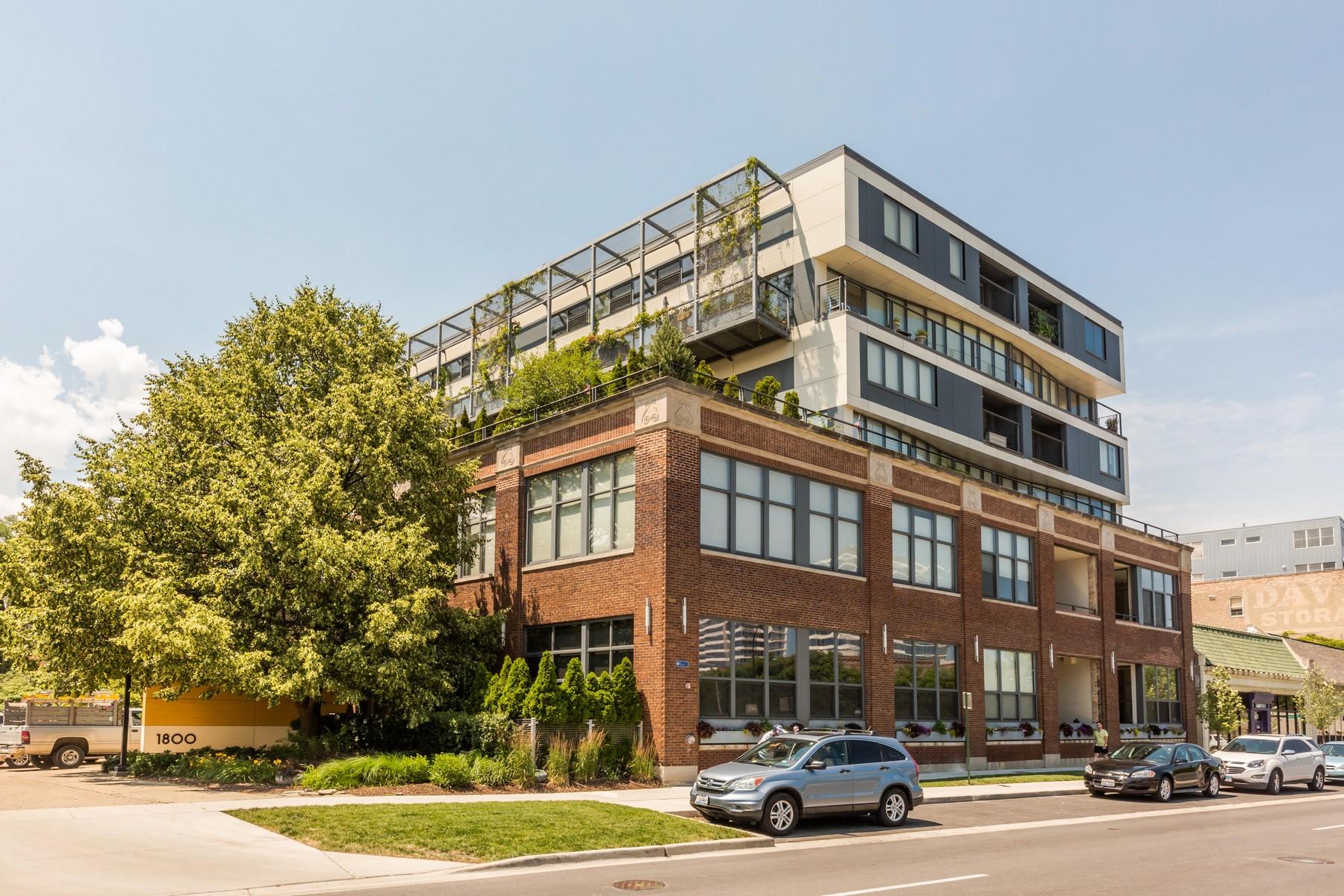 Maison unifamiliale pour l Vente à Spacious And Chic Loft 1800 Ridge Avenue Unit 204 Evanston, Illinois, 60201 États-Unis