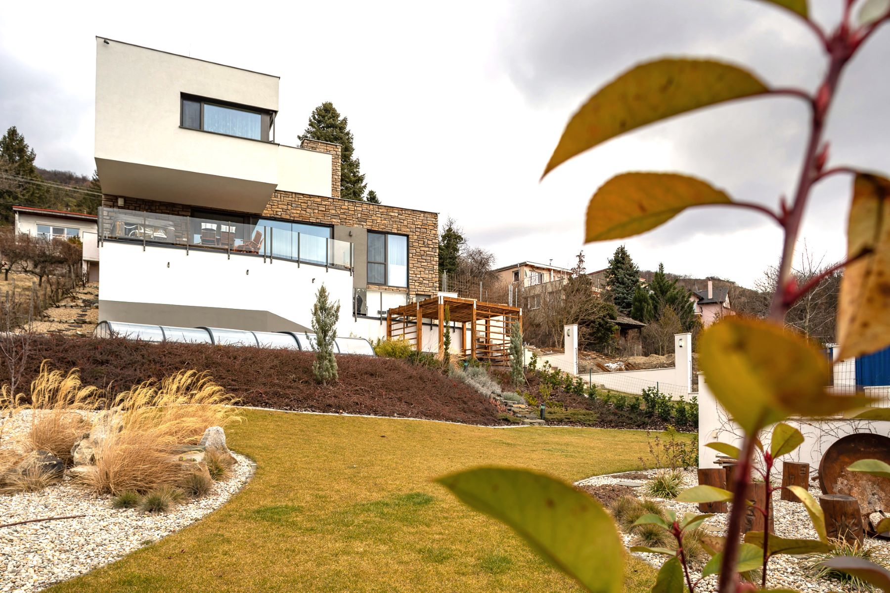 Multi-Family Homes for Sale at A modern family house with a beautiful view of the castle Pod Kobylou 37 Other Slovakia, Other Areas In Slovakia 84110 Slovakia