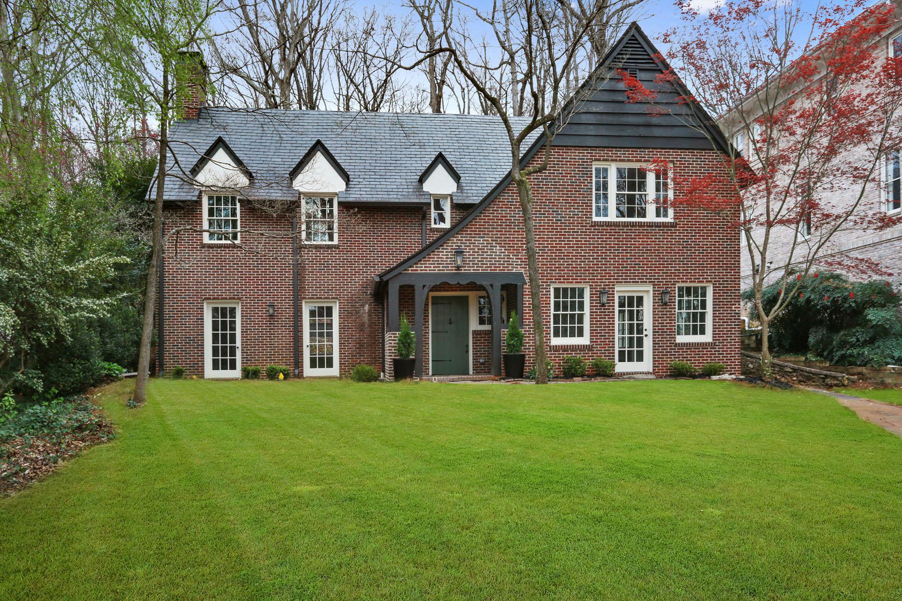 獨棟家庭住宅 為 出售 在 Historic Druid Hills Tudor 941 Clifton Road Druid Hills, Atlanta, 喬治亞州, 30307 美國