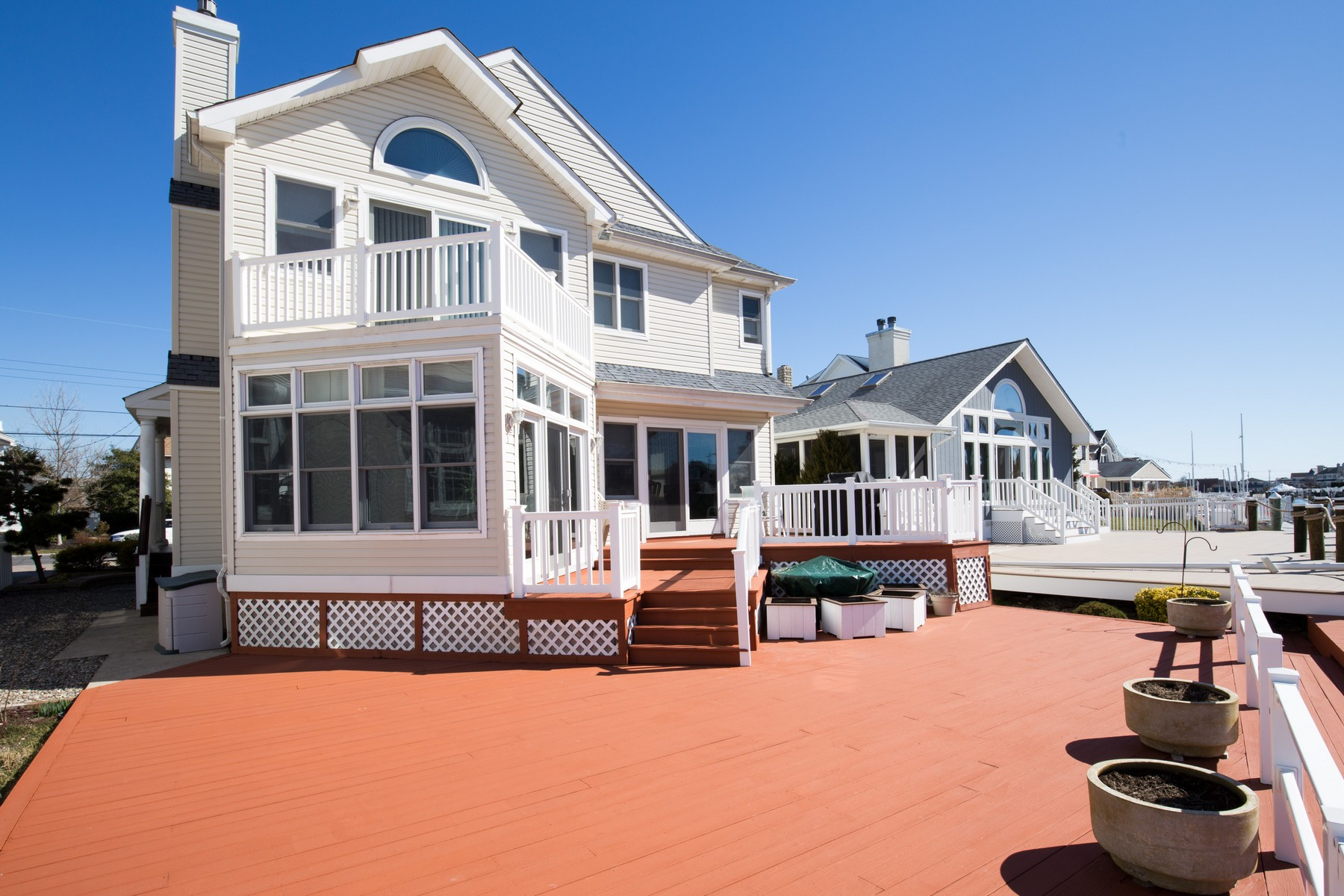 Single Family Home for Sale at Waterfront Home on Sunny Harbor Lagoon 52 Arkansas Avenue Ocean City, New Jersey, 08226 United States