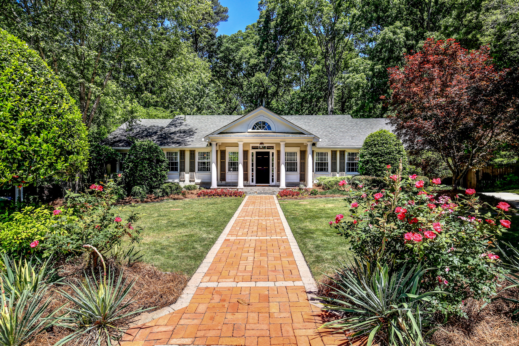 Single Family Home for Sale at A Wooded Surprise In Garden Hills 2548 Sharondale Court NE Garden Hills, Atlanta, Georgia, 30305 United States