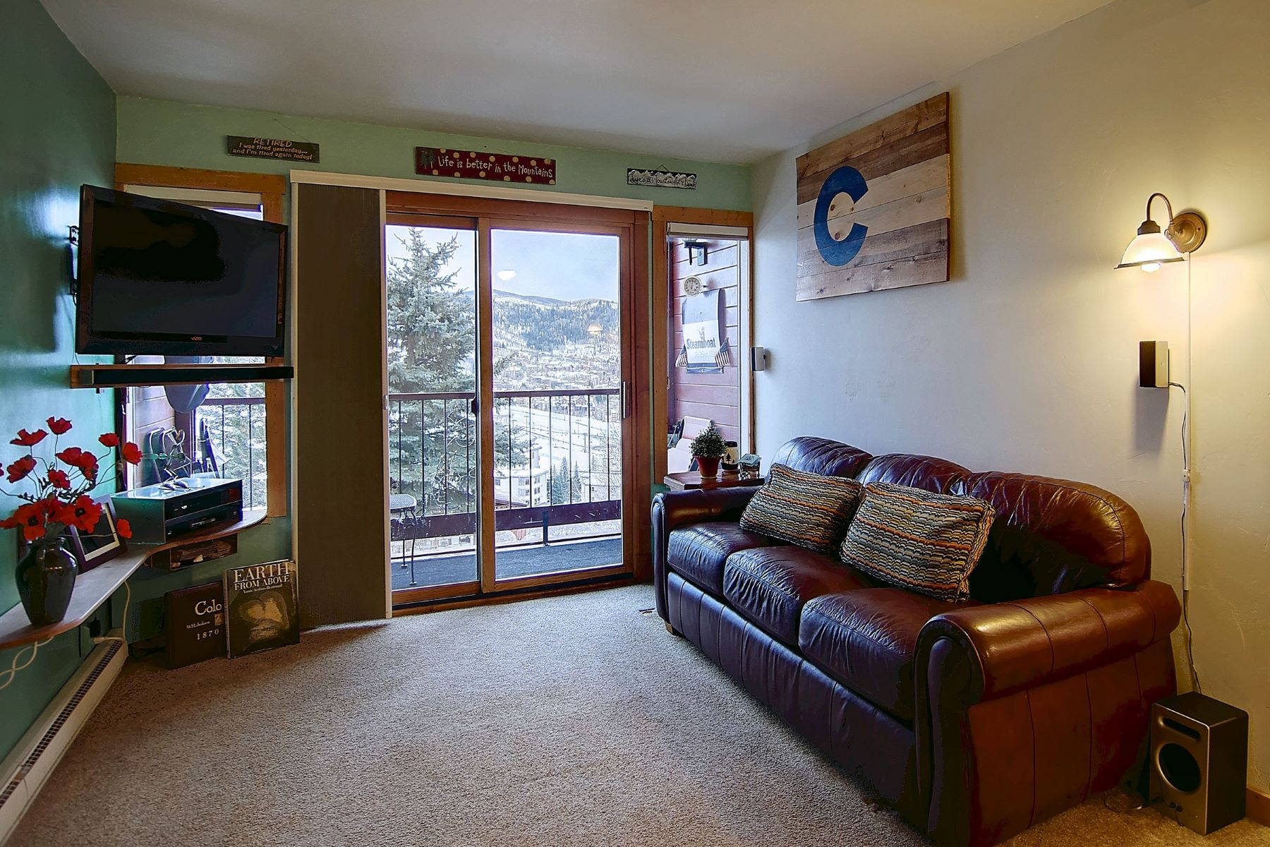 Additional photo for property listing at Panoramic Ski Area Views 1805 River Queen Lane #207 Steamboat Springs, Colorado 80487 United States