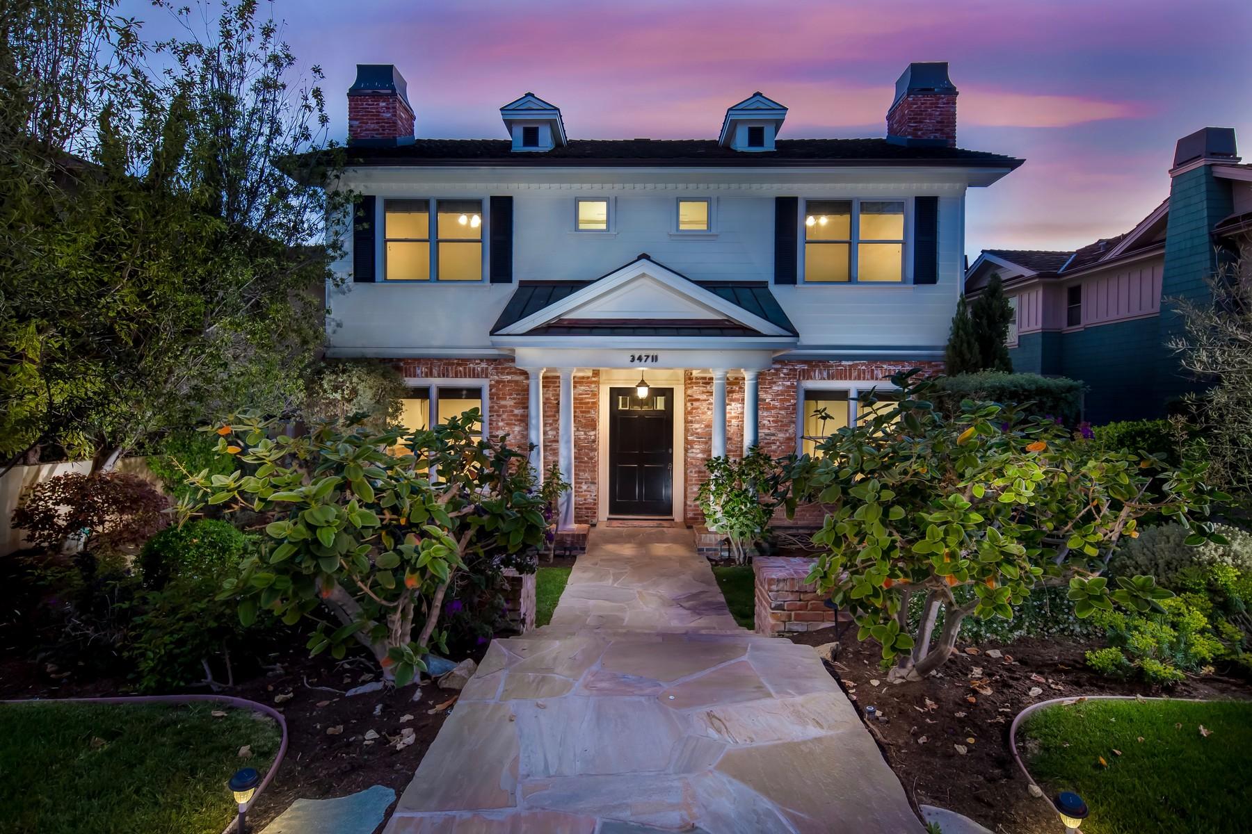 独户住宅 为 销售 在 34711 Calle Loma 德纳, 加利福尼亚州, 92624 美国