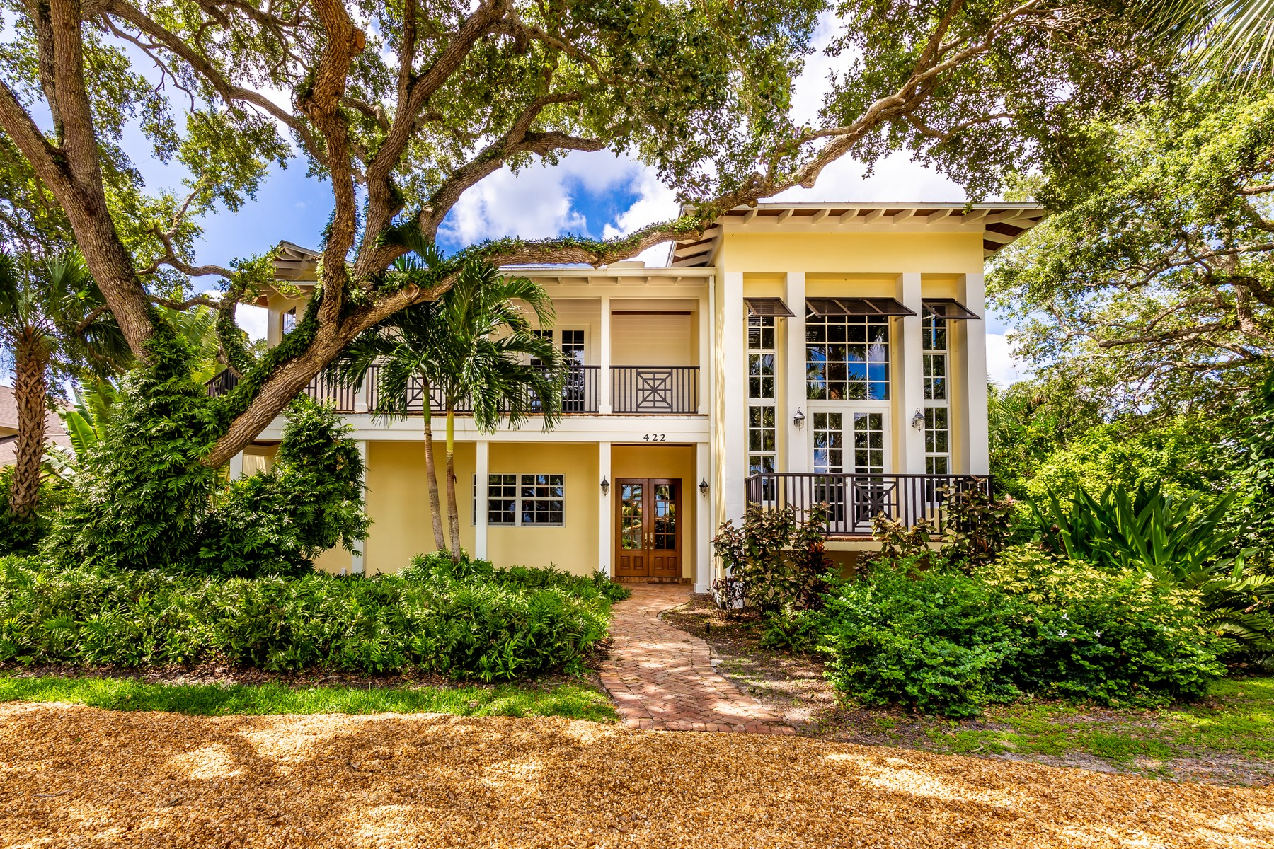Single Family Homes for Sale at Private Island Estate 422 Live Oak Road Vero Beach, Florida 32963 United States