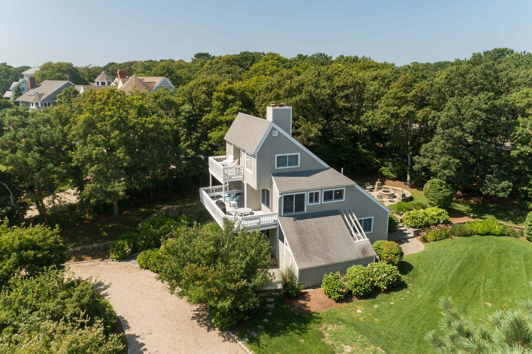 Single Family Homes for Sale at FABULOUS BEACH HOUSE! 21 Triton Way New Seabury, Massachusetts 02649 United States