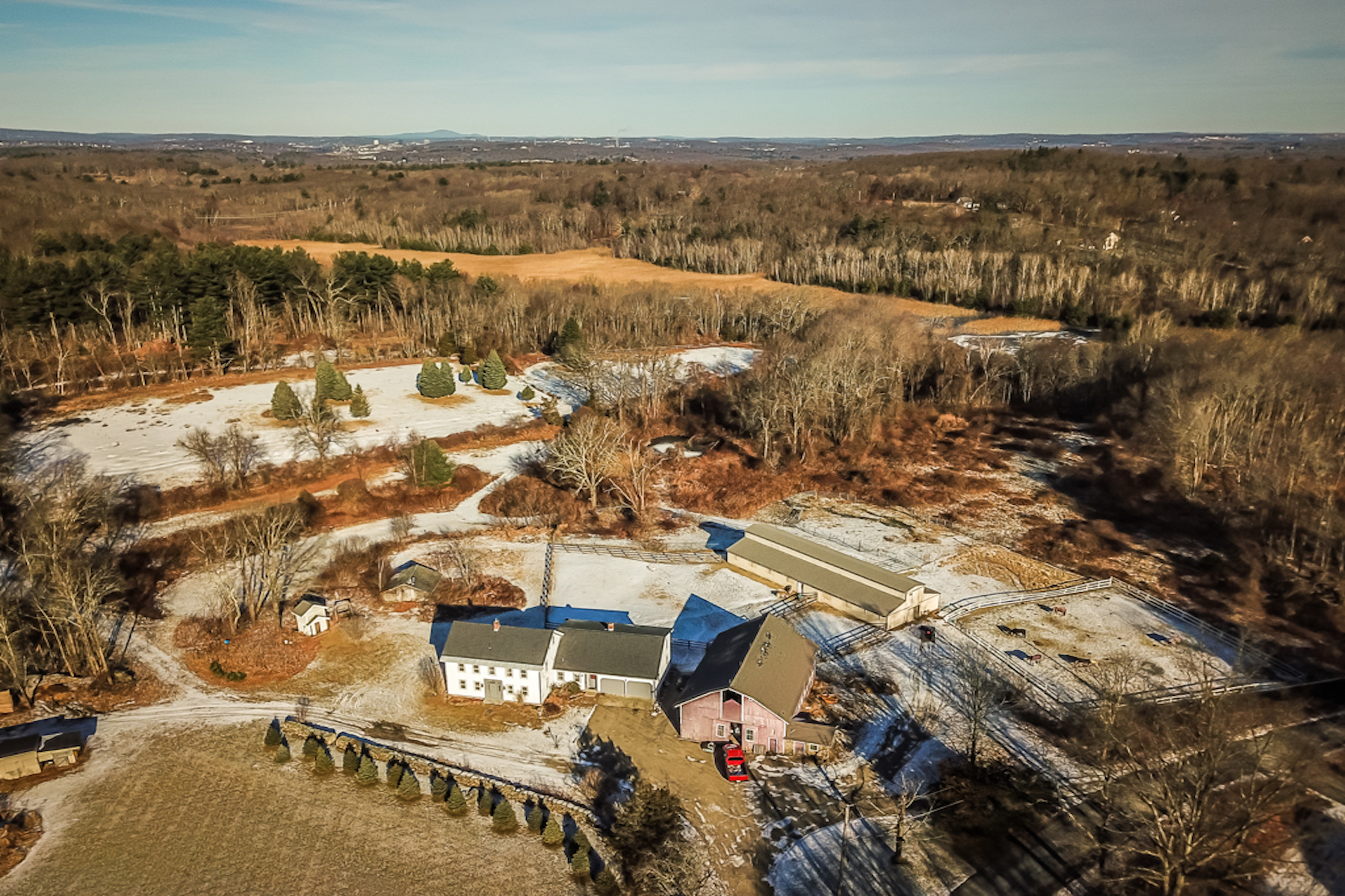 Single Family Home for Active at Fabulous Equestrian Property 53 Burbank Road Sutton, Massachusetts 01590 United States