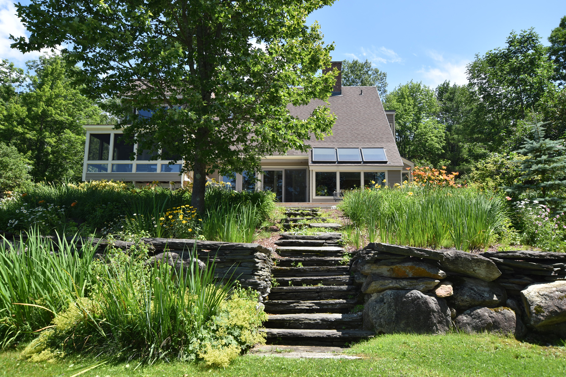 Single Family Homes for Sale at Super home, glorious land, views, pond, mancave 1049H Upper Cold River Road Shrewsbury, Vermont 05738 United States