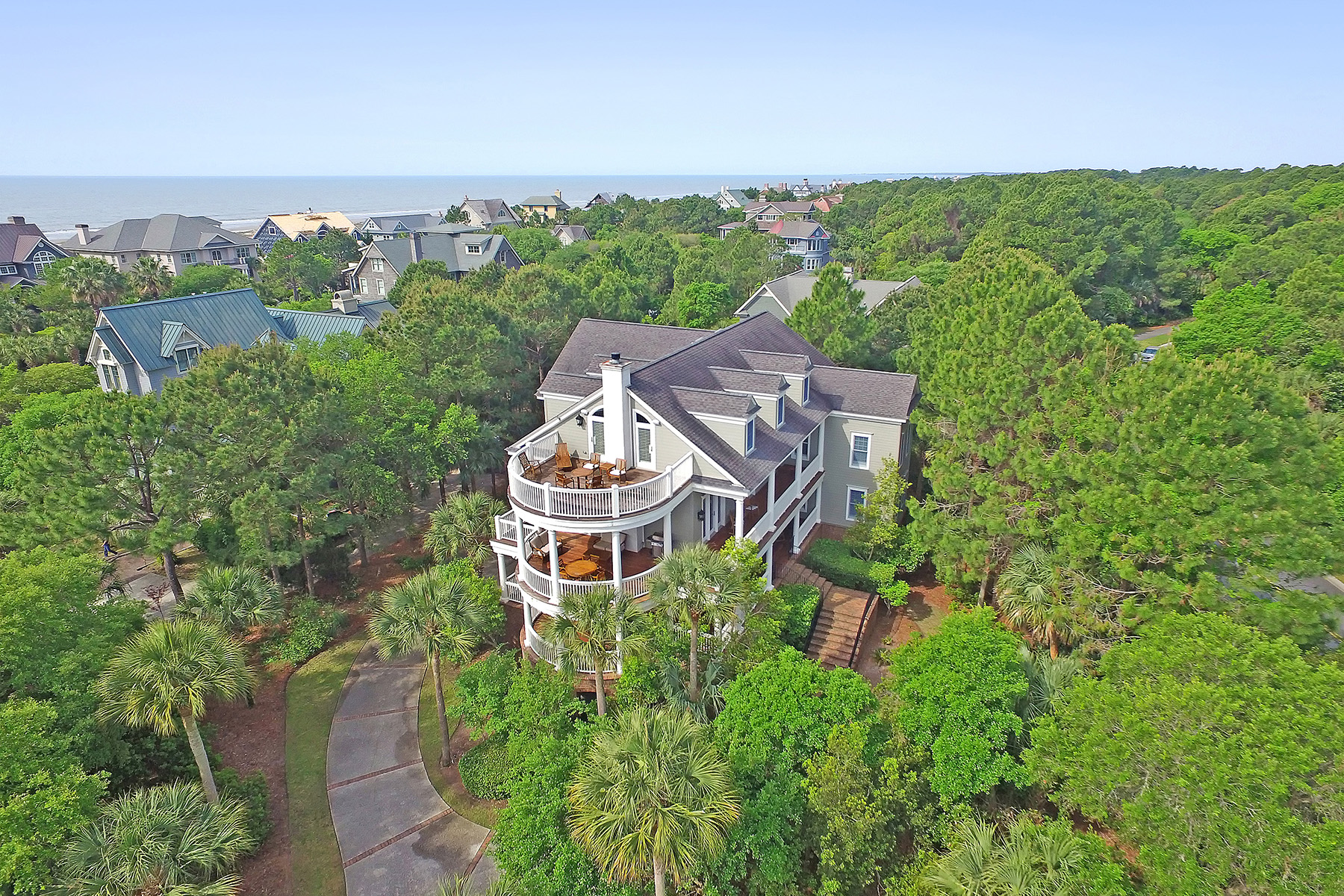 واحد منزل الأسرة للـ Sale في 212 Ocean Marsh 212 Ocean Marsh Road, Kiawah Island, South Carolina, 29455 United States
