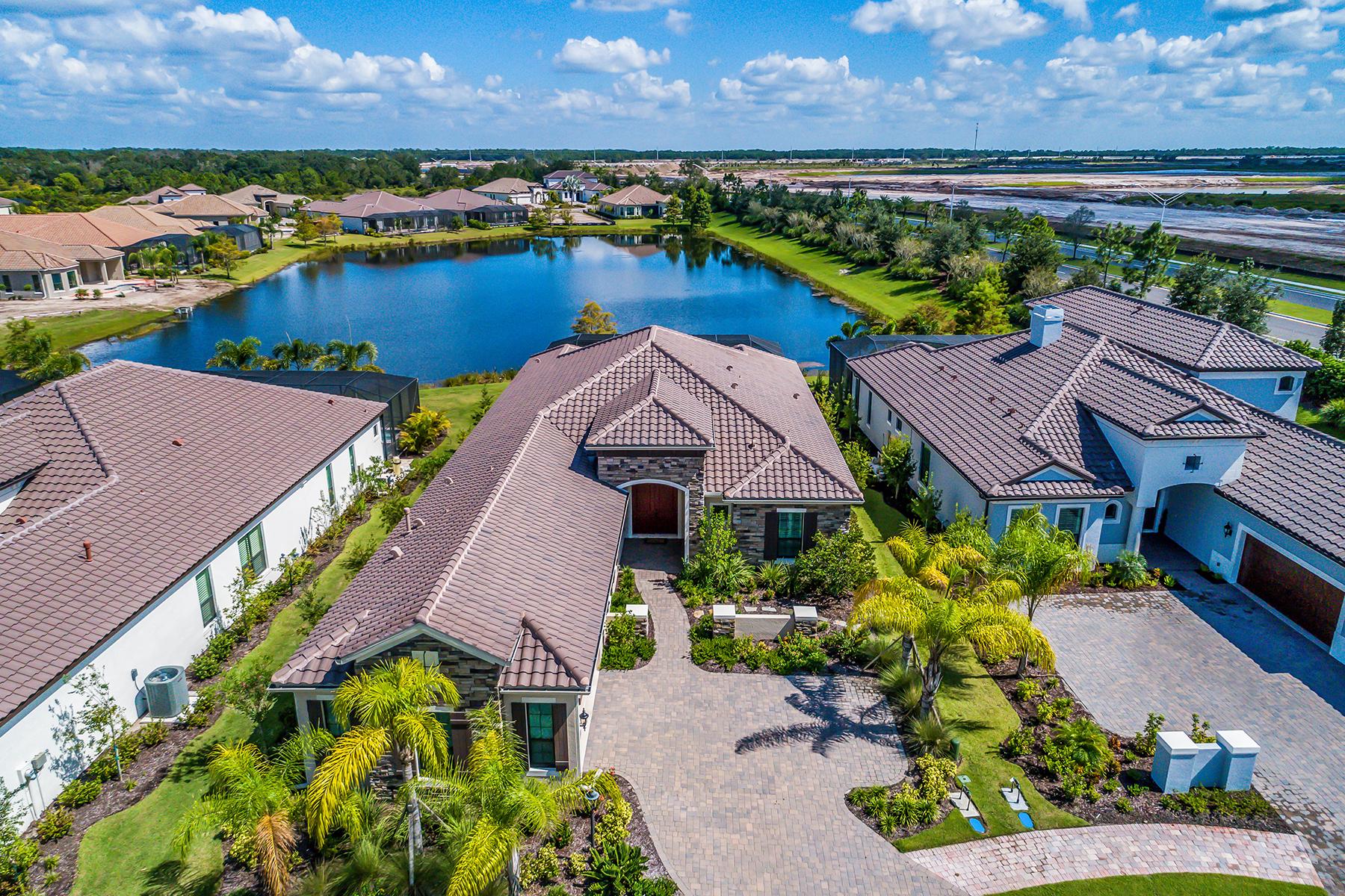 Single Family Homes für Verkauf beim LAKEWOOD RANCH 7719 Sudbury Gln, Lakewood Ranch, Florida 34202 Vereinigte Staaten