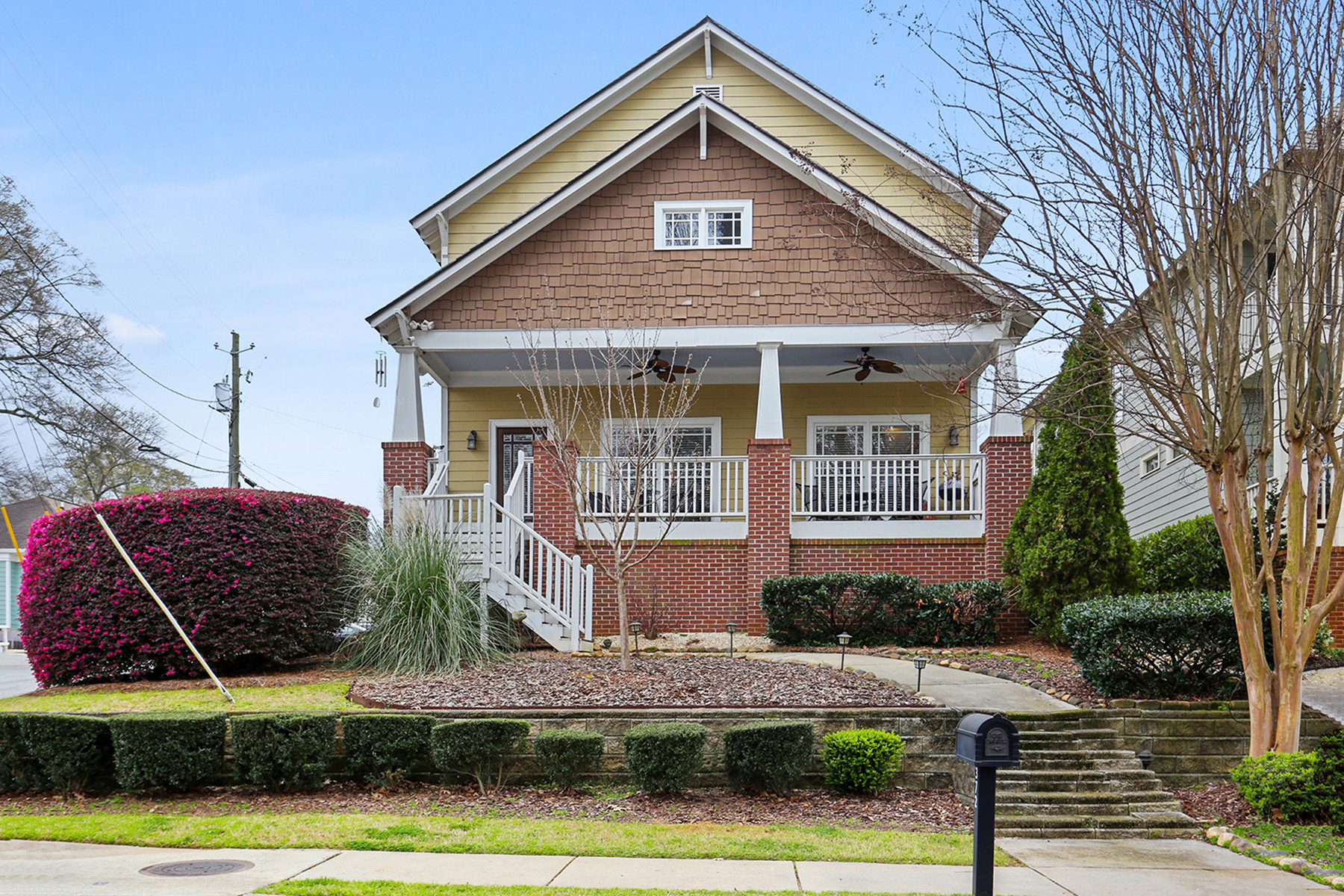 Single Family Homes for Sale at Immaculate Oakhurst Craftsman 372 W Benson Street Decatur, Georgia 30030 United States