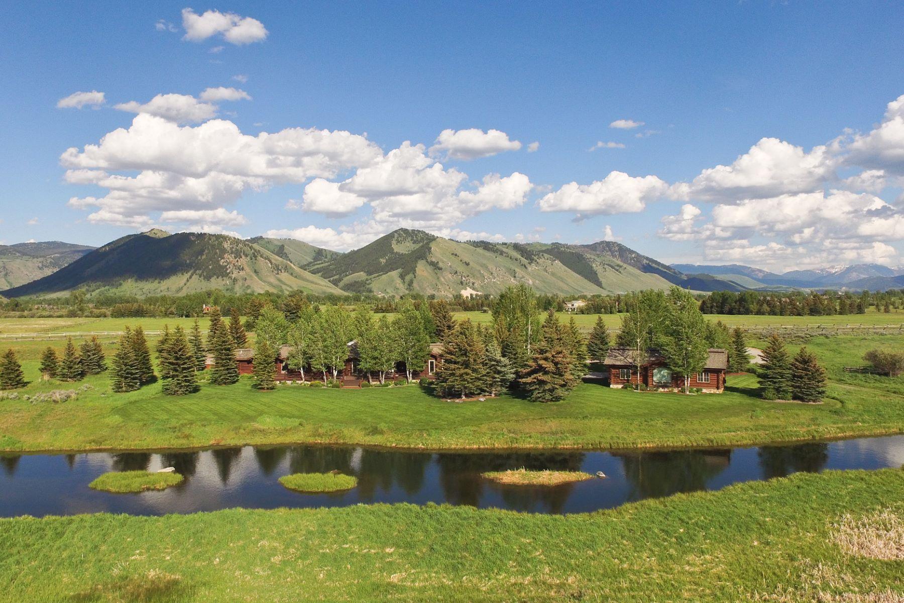 独户住宅 为 销售 在 Cody Creek Ranch 1475 S Creamery 杰克逊, 怀俄明州, 83001 Jackson Hole, 美国