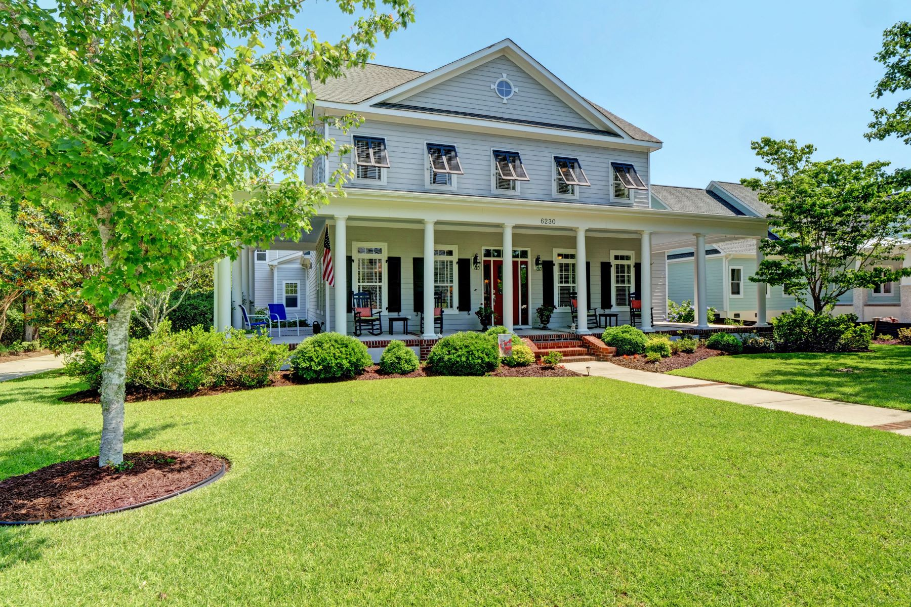 Single Family Home for Active at Gorgeous Low Country Home 6230 Pebble Shore Lane Southport, North Carolina 28461 United States