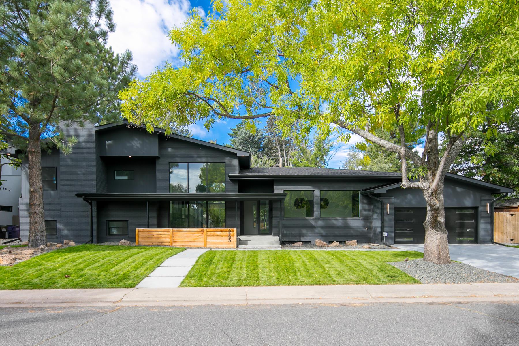 Property для того Продажа на Once You Enter This Custom Hilltop Home, You Won't Want to Leave 265 S Elm St, Denver, Колорадо 80246 Соединенные Штаты