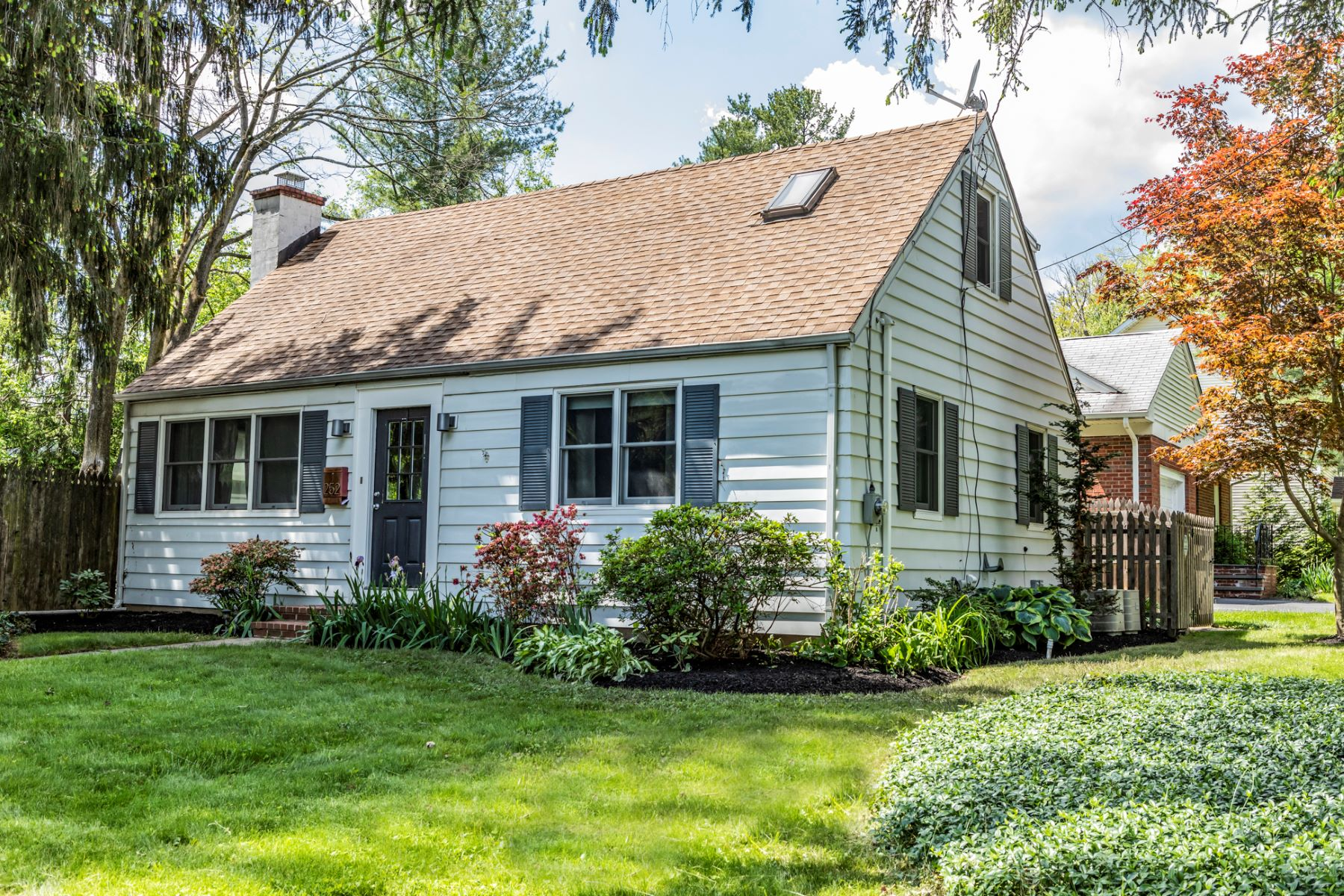 Single Family Homes for Sale at A Modern Redo for In-Town Princeton Cape 252 Hamilton Avenue, Princeton, New Jersey 08540 United States