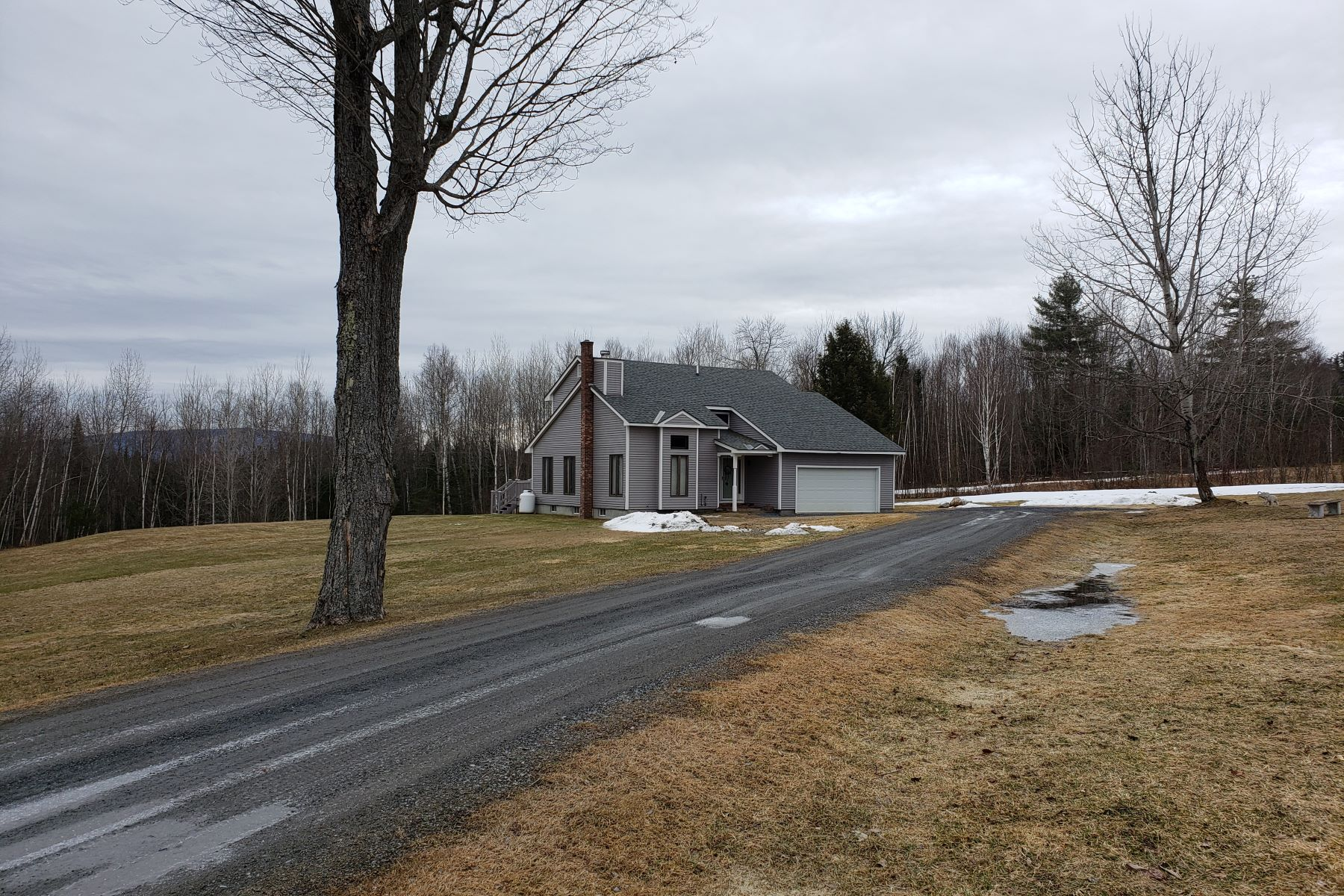 Single Family Homes for Sale at Three Bedroom Contemporary in Bradford 147 Sky Meadow Drive Bradford, Vermont 05033 United States