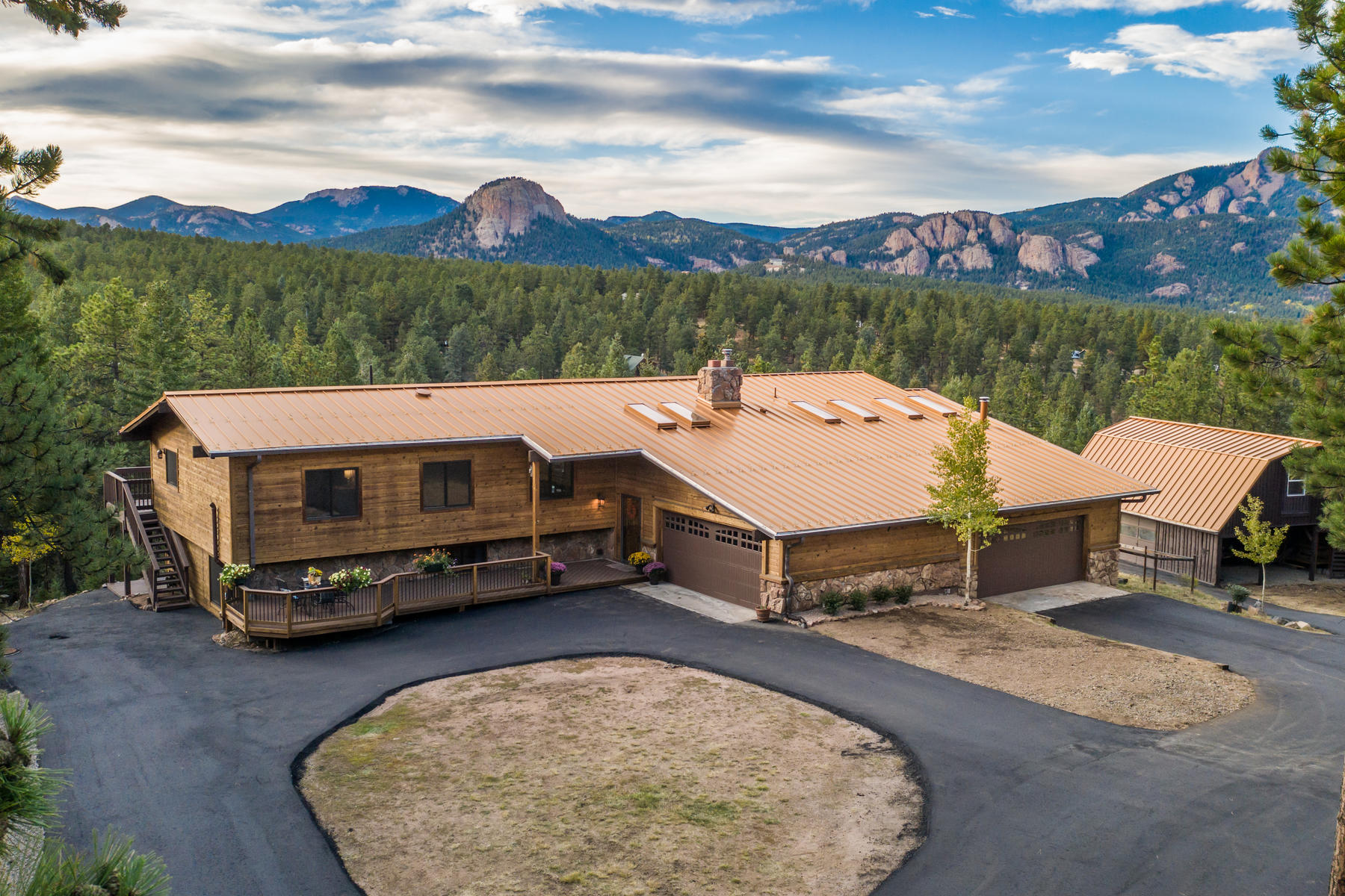 Single Family Homes for Sale at Immaculately Maintained with Beautiful Mountain Views 2973 Nova Road Pine, Colorado 80470 United States