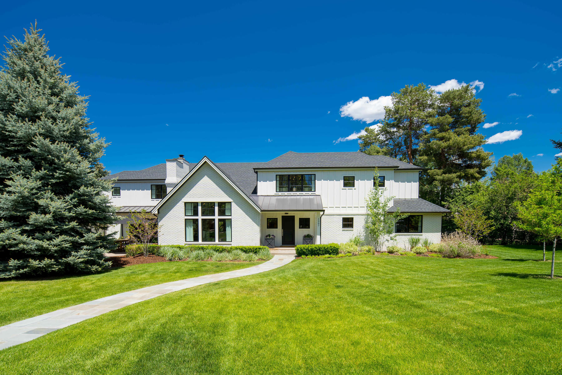 Single Family Homes for Sale at Classic Farmhouse in Greenwood Village 1507 Cottonwood Lane Greenwood Village, Colorado 80121 United States