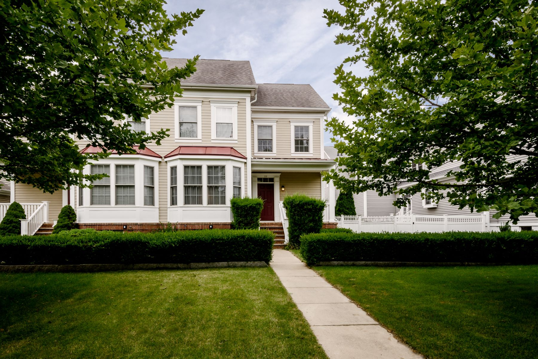 Townhouse for Sale at Open Plan and Pretty Outdoor Space in Robbinsville 59 Newtown Boulevard, Robbinsville, New Jersey 08691 United States