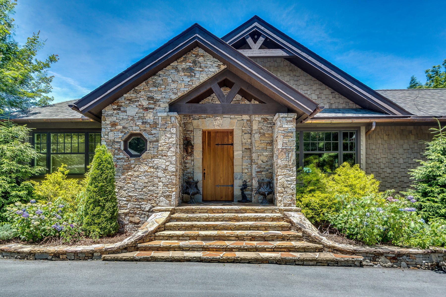 Single Family Homes for Active at 919 Garnet Rock Trail Highlands, North Carolina 28741 United States