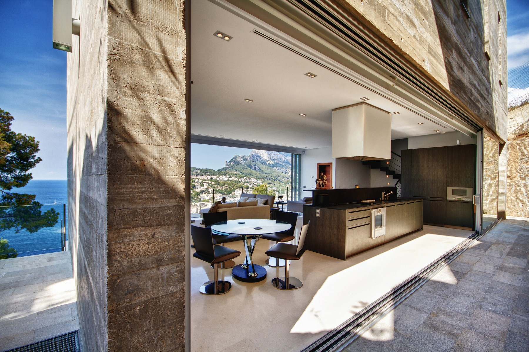 Single Family Home for Sale at Modern villa in Puerto Soller with superb views Soller, Mallorca, 07179 Spain