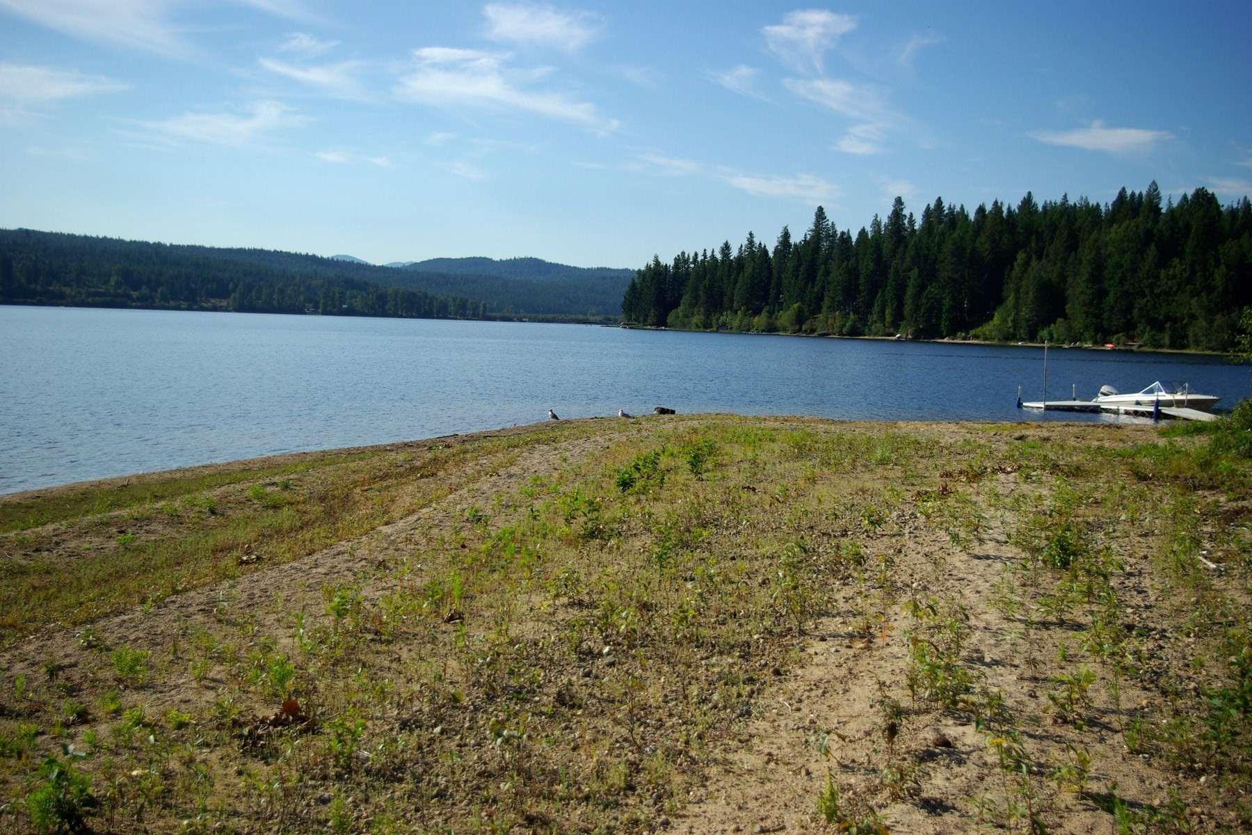 Terreno por un Venta en Your own private sandy beach on Lake Cocolalla, Lot 9 Lot 9 Sandy Beach Ln Cocolalla, Idaho 83813 Estados Unidos