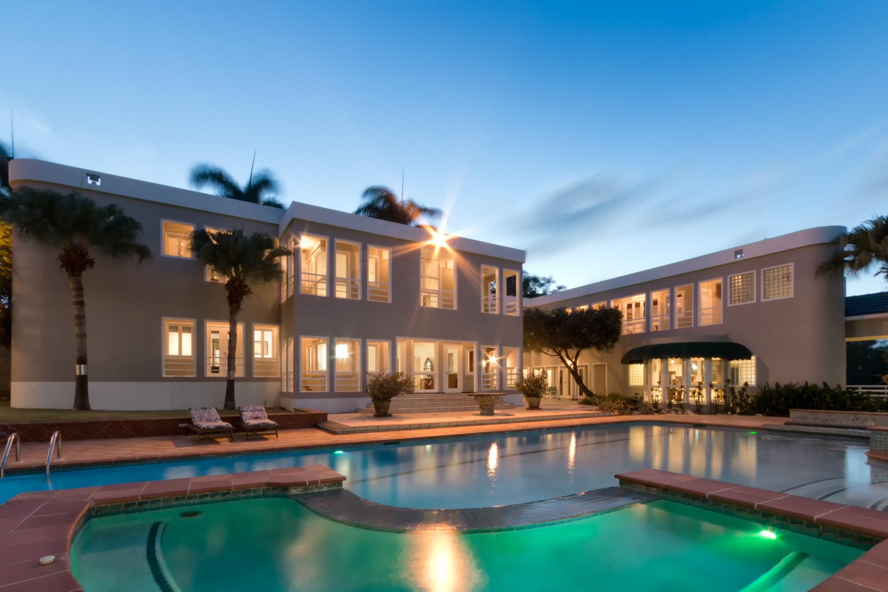 واحد منزل الأسرة للـ Sale في Sprawling Estate 26 Dorado Beach Estates Dorado Beach, Puerto Rico 00646 Puerto Rico