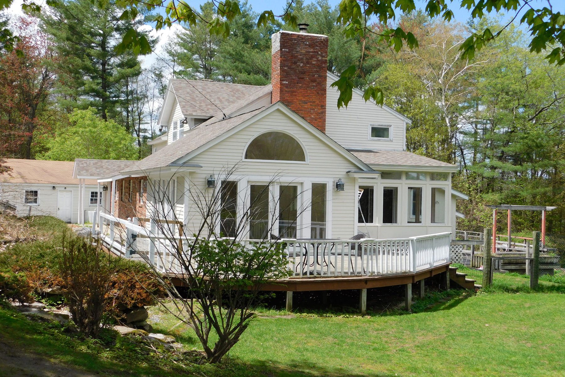 Single Family Homes for Sale at Three Acres in Rutland City 2 Campbell Rd Rutland, Vermont 05701 United States