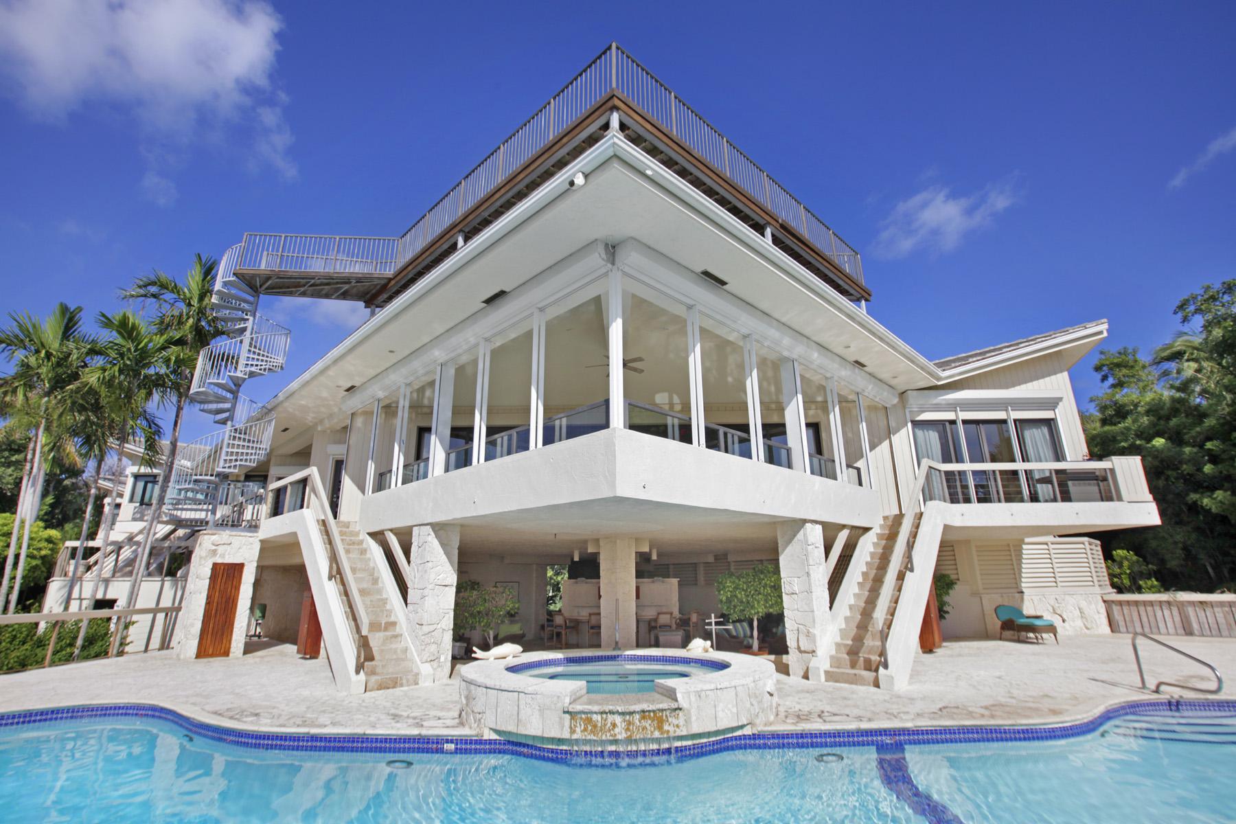 獨棟家庭住宅 為 出售 在 Truly Unique Oceanfront Home at Ocean Reef Club 19 Sunrise Cay Drive Key Largo, 佛羅里達州 33037 美國