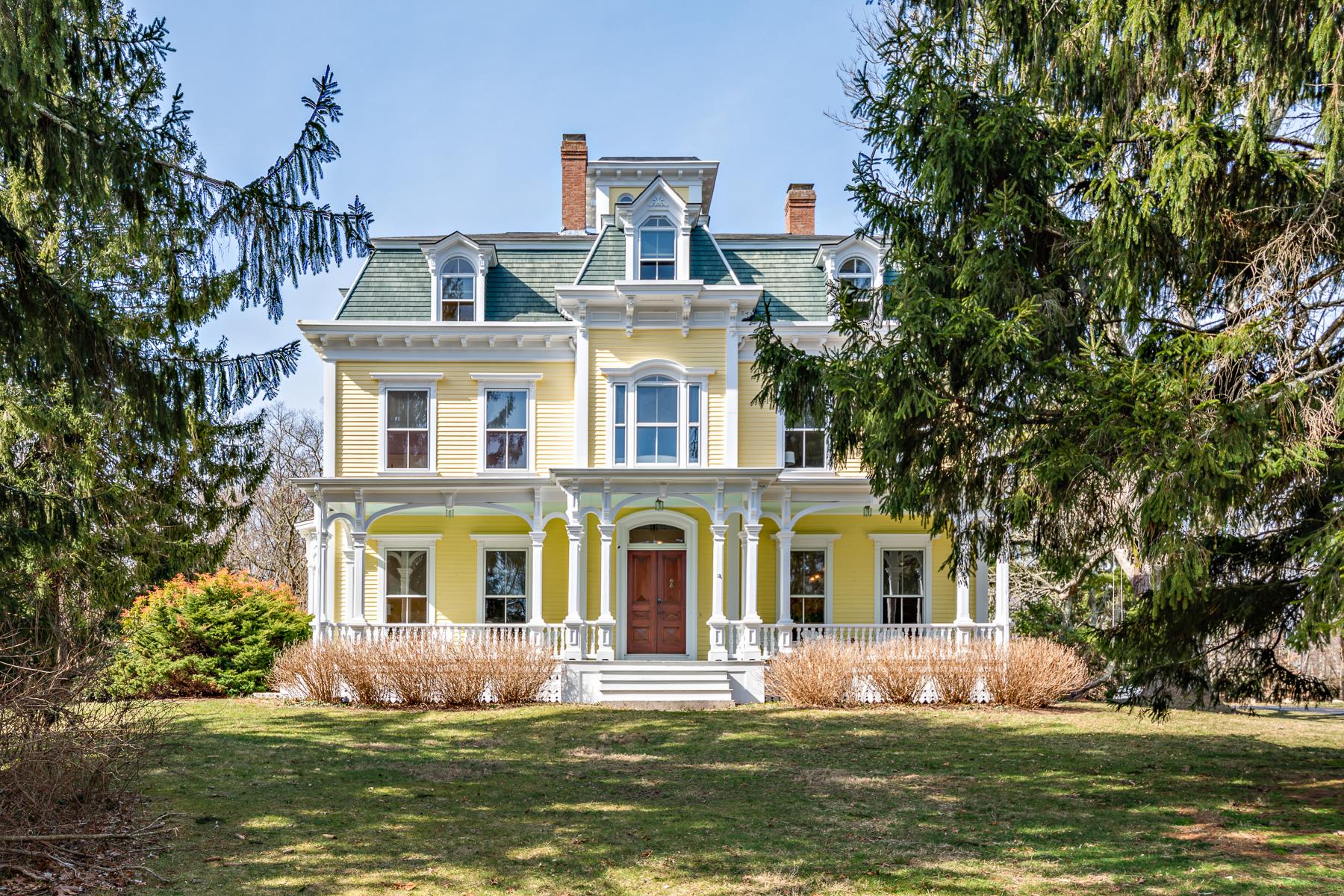 Single Family Homes por un Venta en William Whitredge Estate 285 Stone Church Road Tiverton, Rhode Island 02878 Estados Unidos