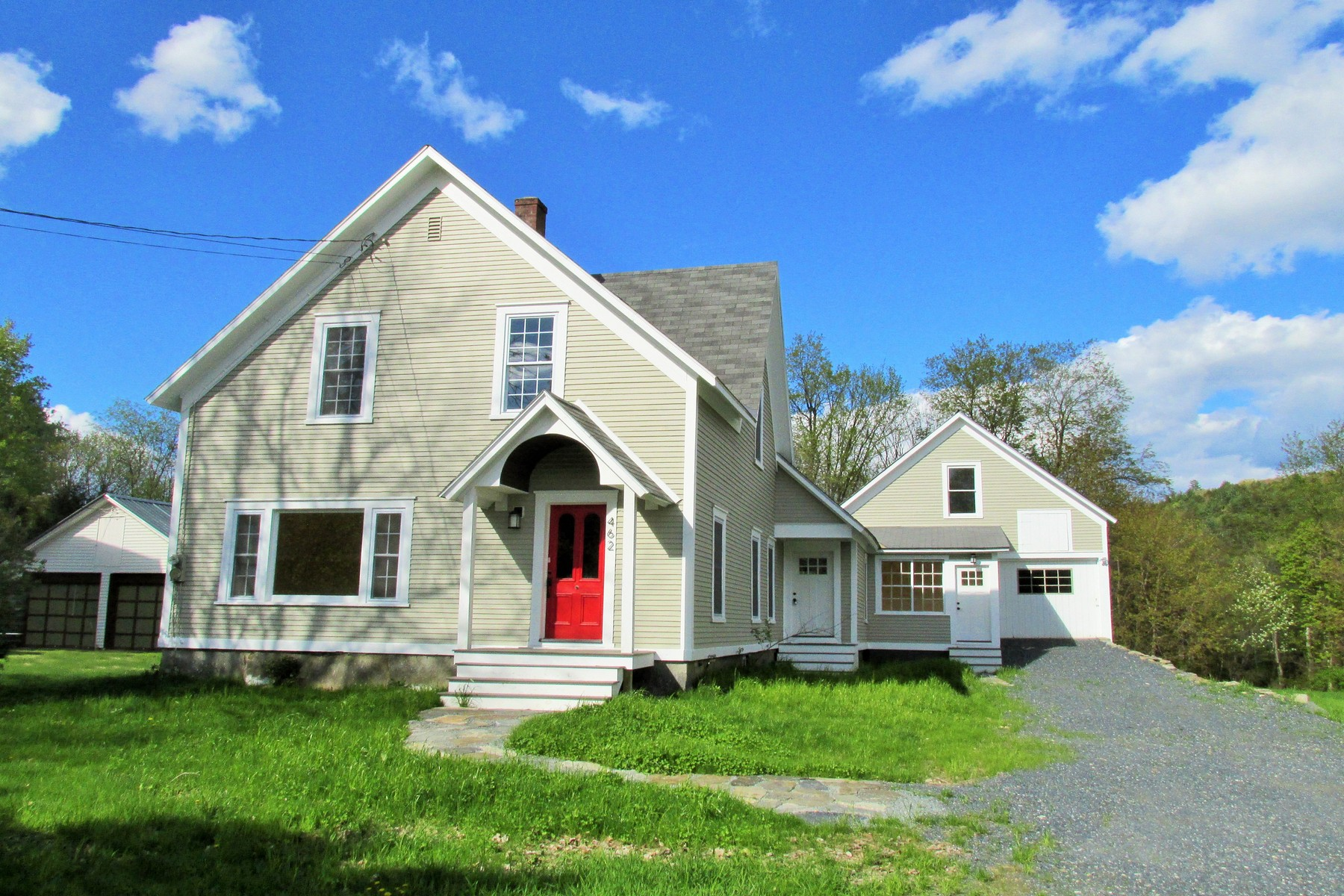 single family homes for Sale at Beautifully Updated Village Farmhouse 462 Elm St Chester, Vermont 05143 United States