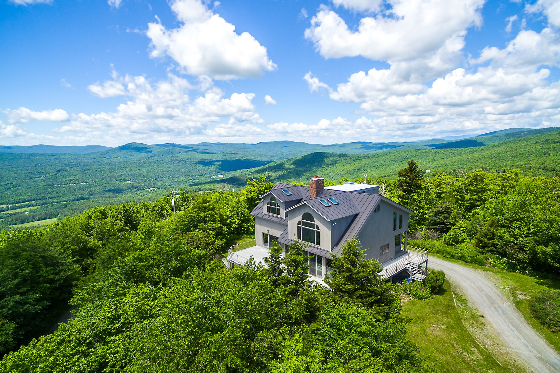 Single Family Homes for Sale at Stunning Long Distance Views 1989 Andover Ridge Rd Andover, Vermont 05143 United States