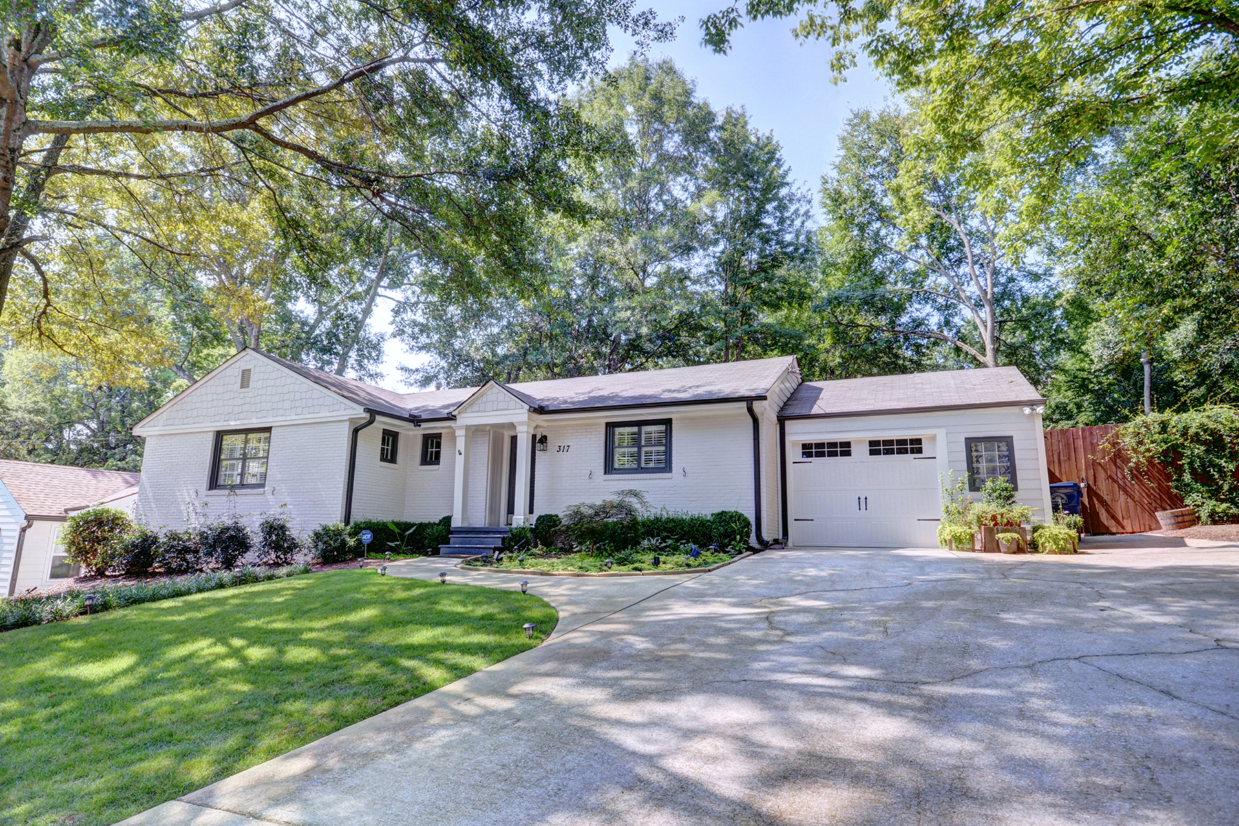Single Family Home for Sale at Renovated Brick Home in Peachtree Hills 317 Lindbergh Dr Atlanta, Georgia 30305 United States