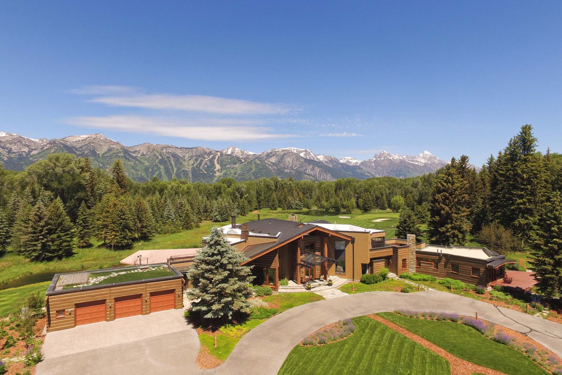 Single Family Homes for Active at Creekside Elegance 5300 Prince Place Jackson, Wyoming 83001 United States