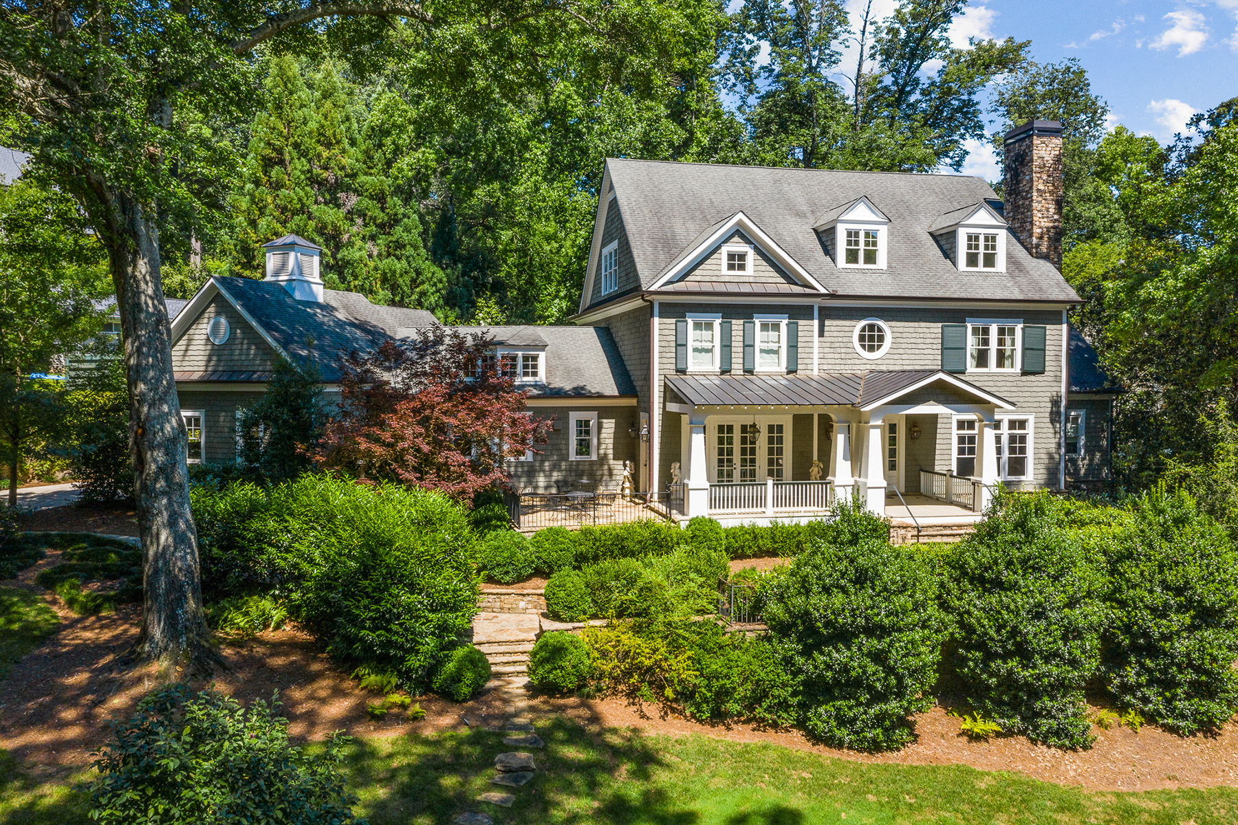 Property for Sale at Classic Shingle Style on Private Buckhead Street 948 Buckingham Circle NW Atlanta, Georgia 30327 United States