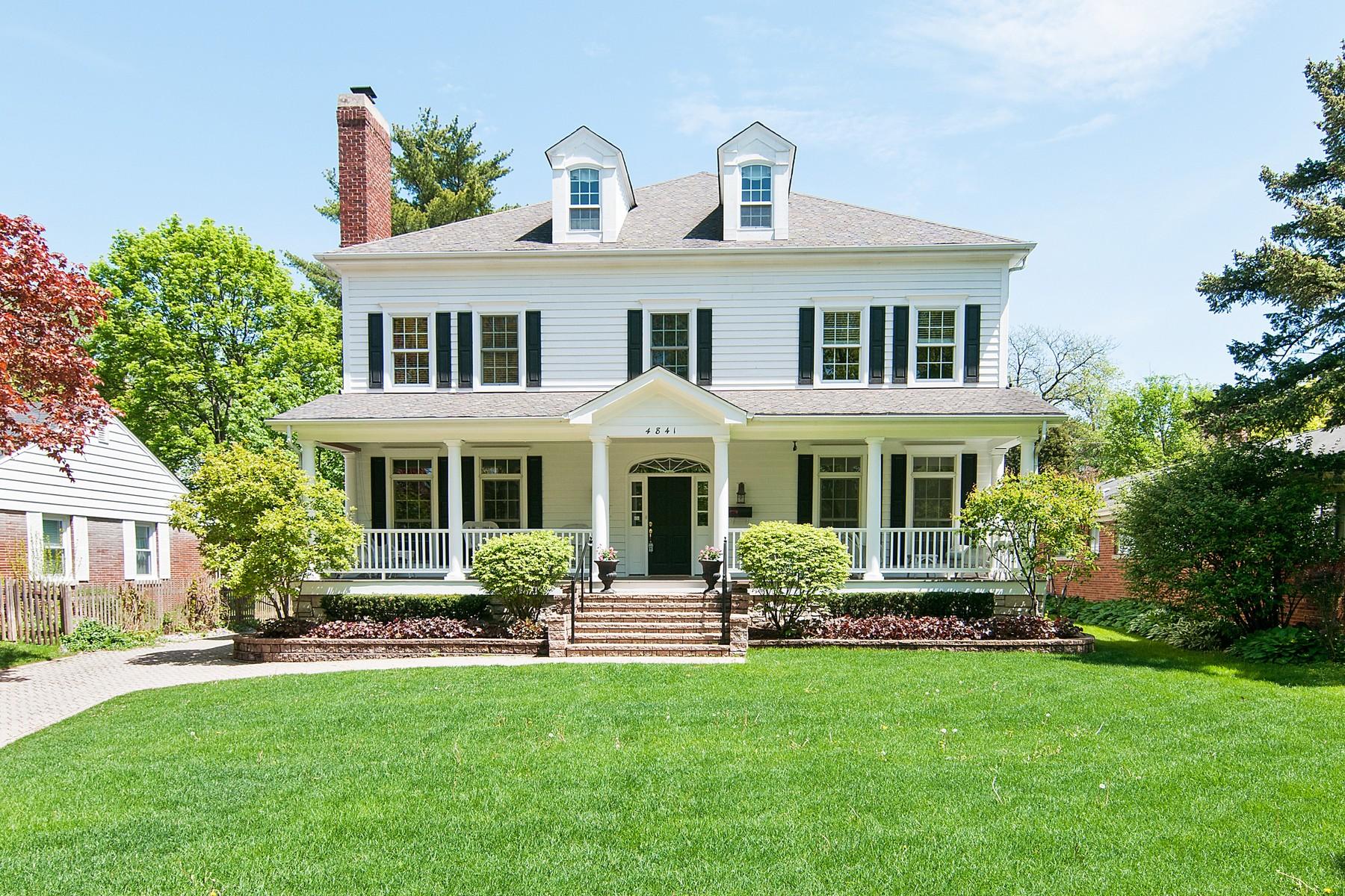 Частный односемейный дом для того Продажа на 4841 Woodland Avenue Western Springs, Иллинойс, 60558 Соединенные Штаты