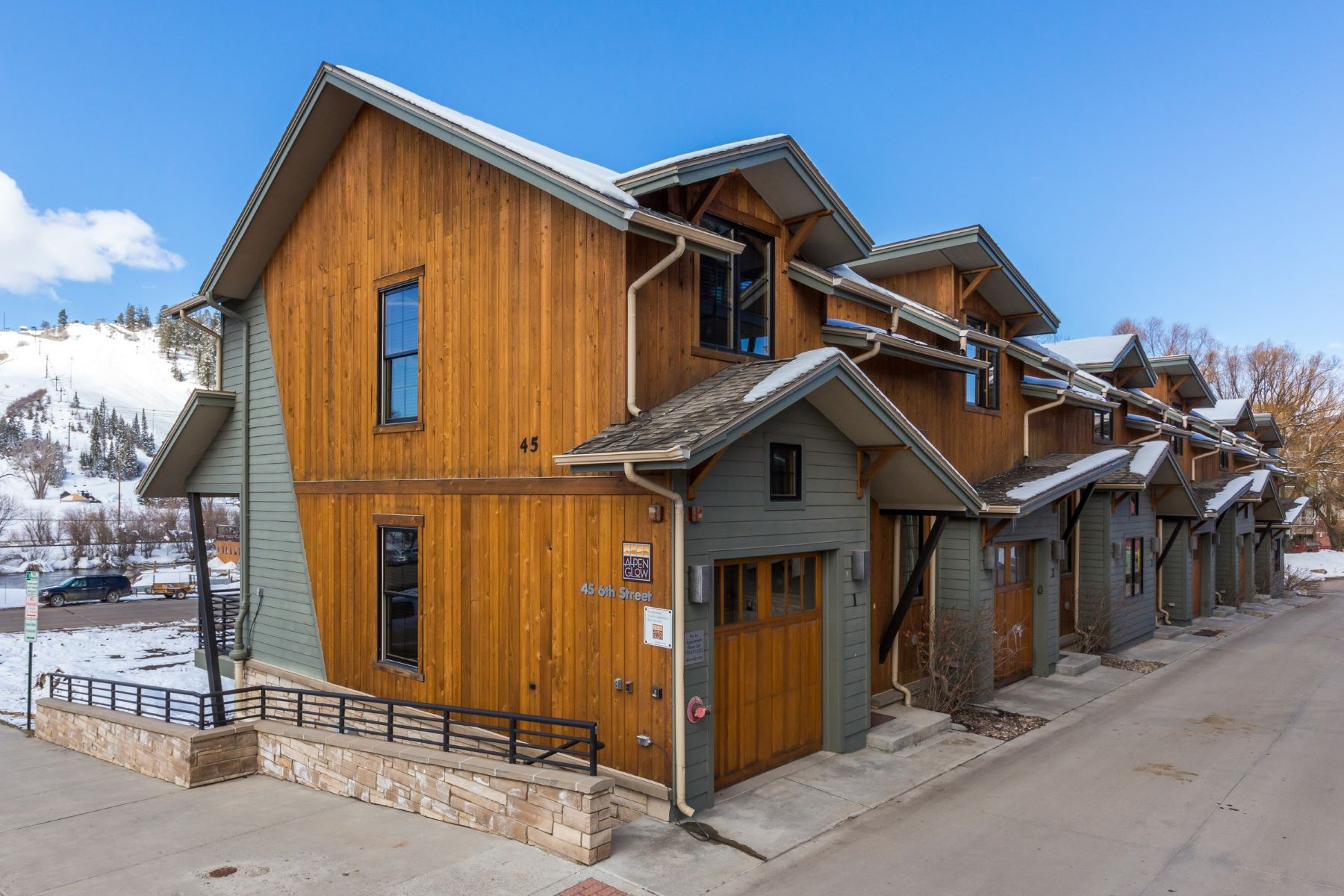 Single Family Home for Rent at Alpenglow Row House #1 45 6th Street #1 Steamboat Springs, Colorado 80487 United States