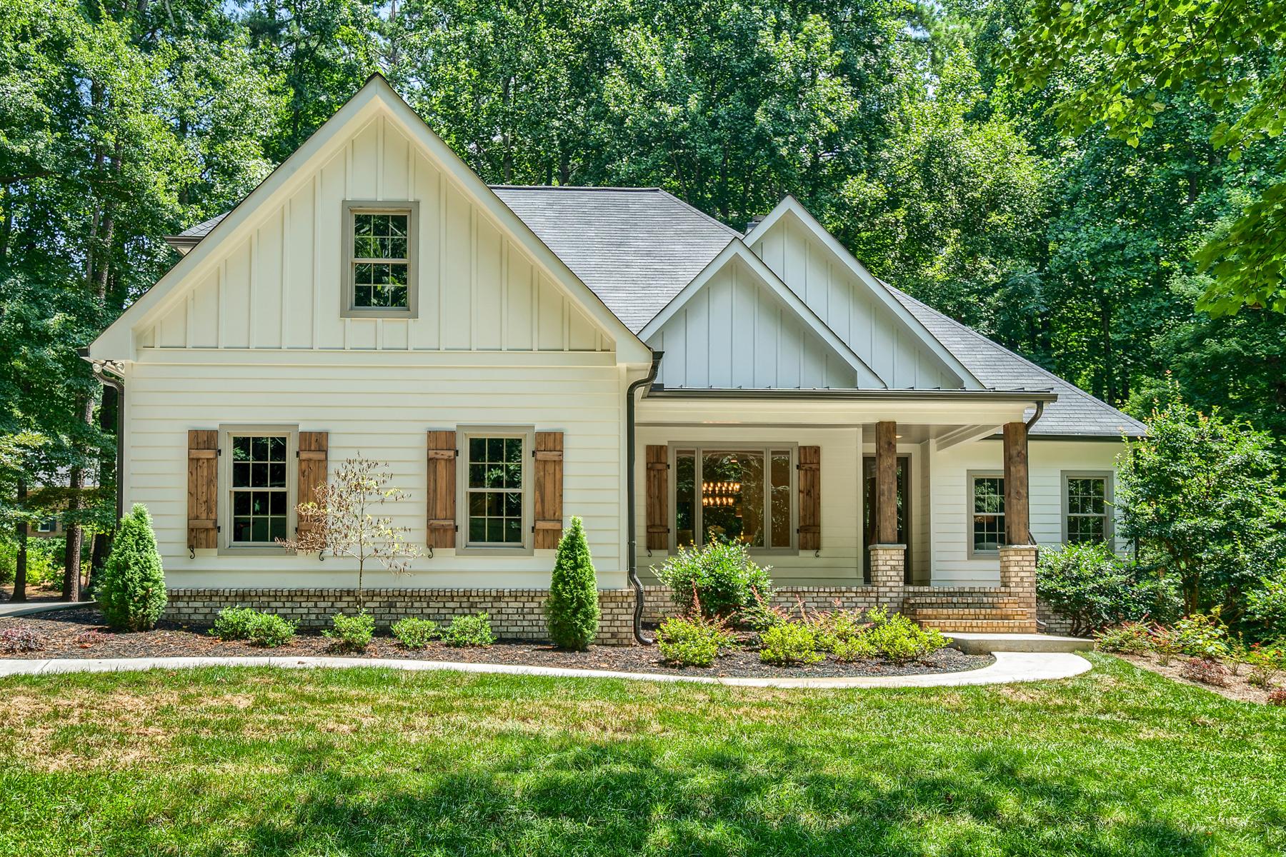 獨棟家庭住宅 為 出售 在 Stunning Modern Farmhouse In The Heart Of Roswell 275 Spring Creek Road Roswell, 喬治亞州 30075 美國
