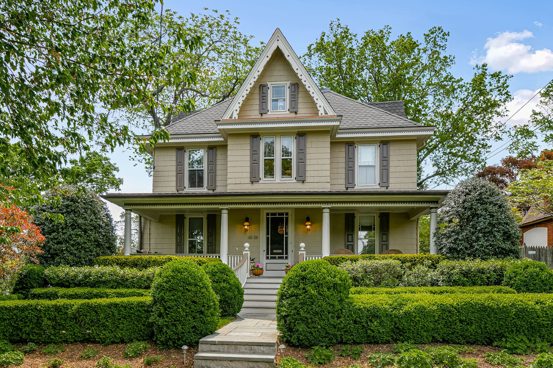 Single Family Homes for Sale at Beautifully Restored Victorian 44 Green Avenue Madison, New Jersey 07940 United States