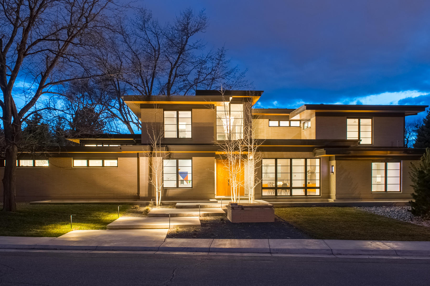 Single Family Home for Active at The Finest Ultra-Mid-Century New Construction 701 South Jackson Street Denver, Colorado 80209 United States