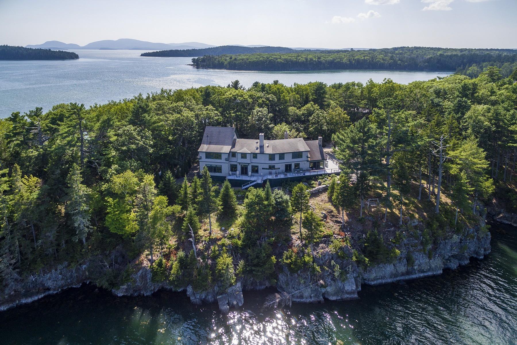 Single Family Homes للـ Sale في 170 Treasure Island Road, Sorrento, Maine 04677 United States
