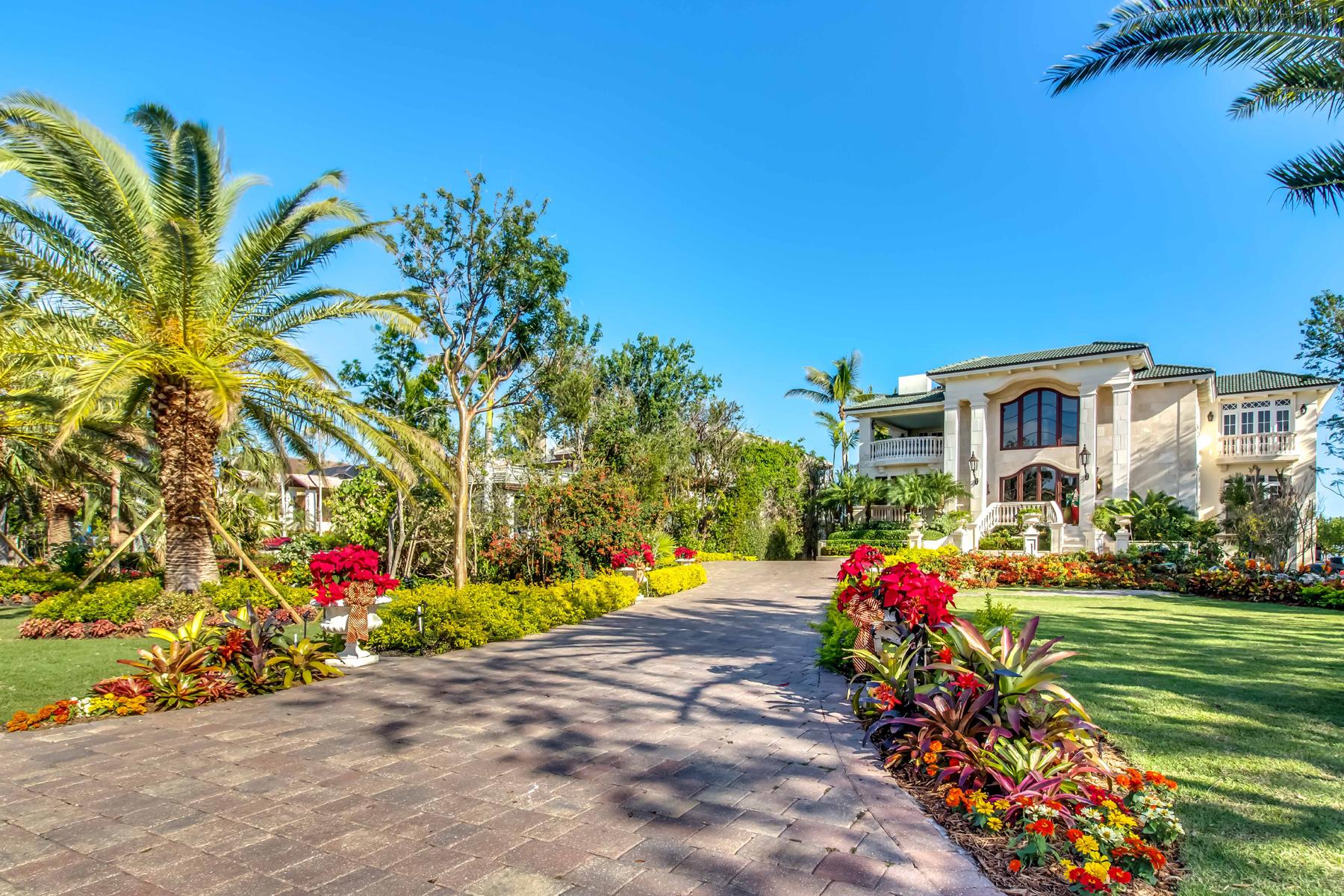 一戸建て のために 売買 アット Magnificent Oceanfront Home at Ocean Reef 14 Sunrise Cay Drive Key Largo, フロリダ 33037 アメリカ合衆国