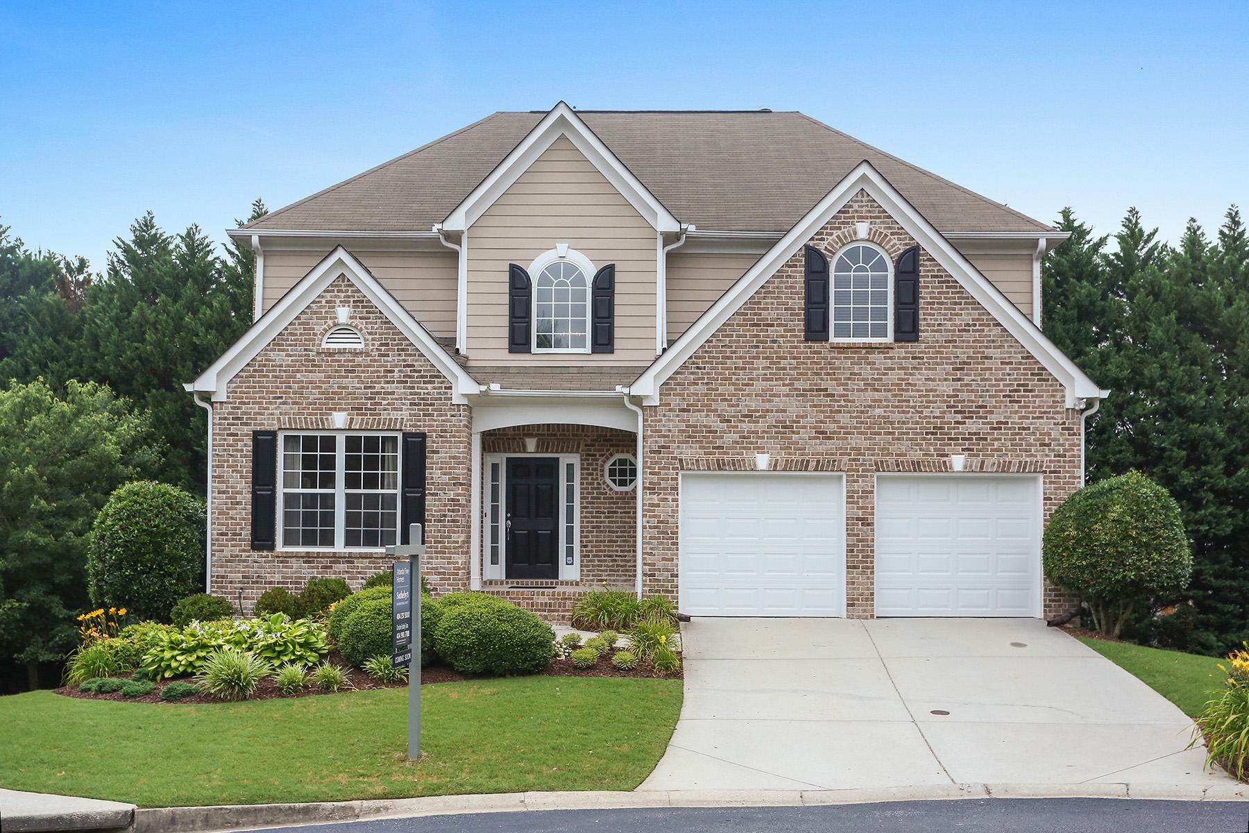 Single Family Homes 용 매매 에 Charming Cul-de-sac Home in Gated Community in Smyrna 1308 Kirkwood Lane, Smyrna, 조지아 30082 미국