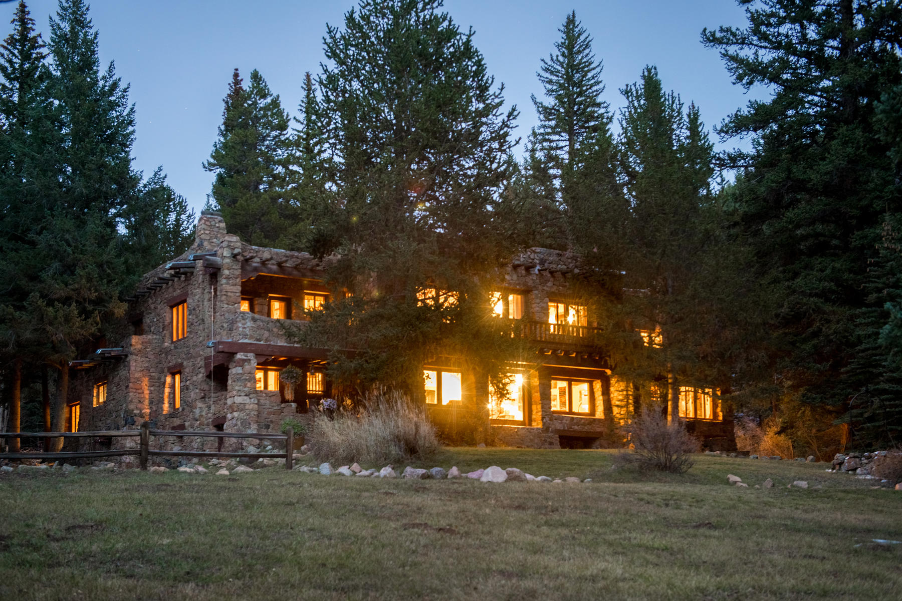 Single Family Homes for Sale at Adolph Coors' 1920's Homestead 3250 County Road 62, Grant, Colorado 80448 United States