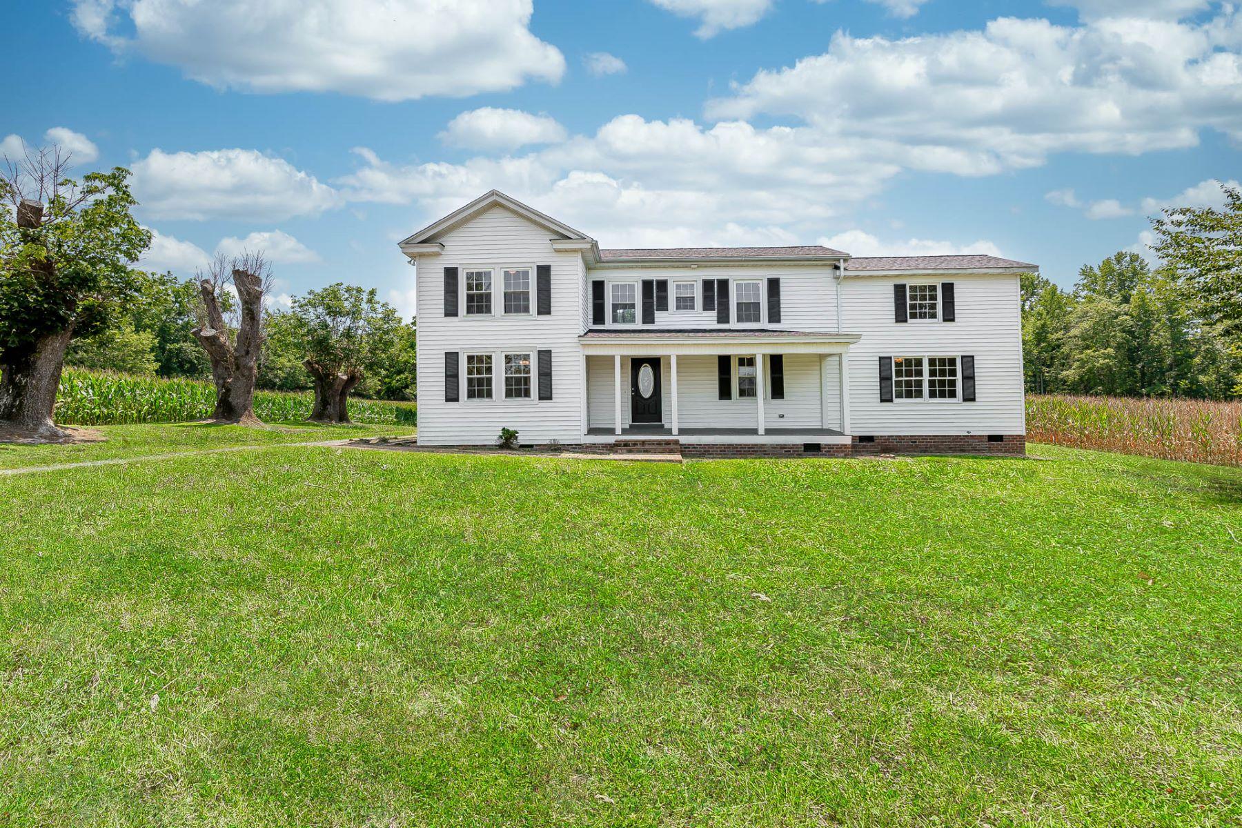 Single Family Homes للـ Sale في Stevensville 11098 The Trail, Stevensville, Virginia 23161 United States