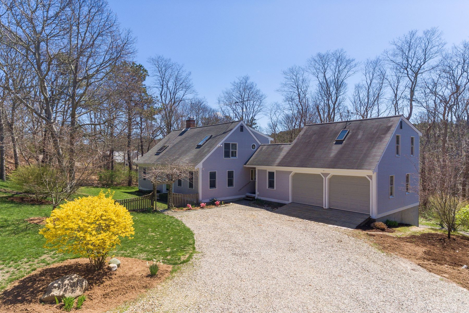 Single Family Homes por un Venta en Bucolic Estate 3 Snows Road Truro, Massachusetts 02666 Estados Unidos